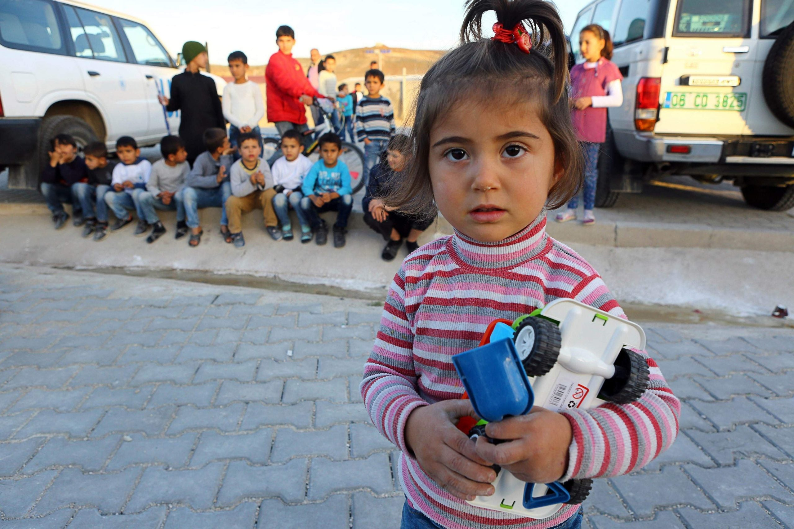 For many refugees, fleeing violence also means losing their families