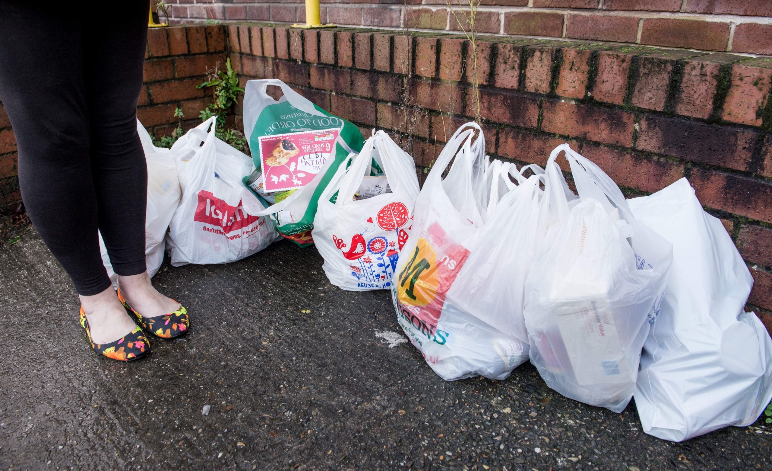 More people than ever use food banks in Britain today – and I'm one of them