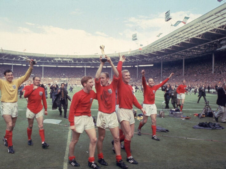England's 1966 squad would be horrified by today's pre-match menu. And Wenger's to blame