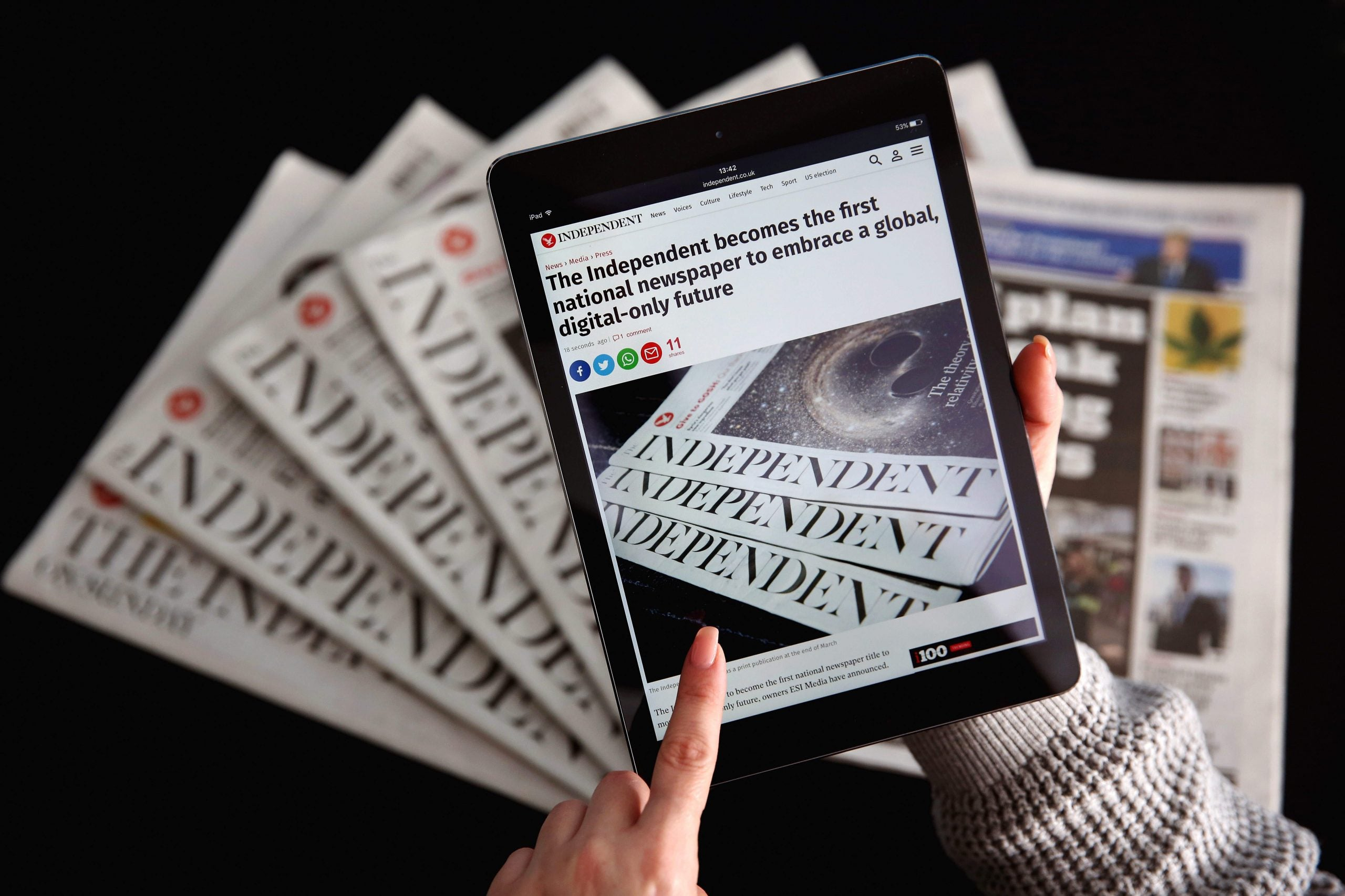 Creative destruction, Rupert Murdoch and the rise and fall of the Independent