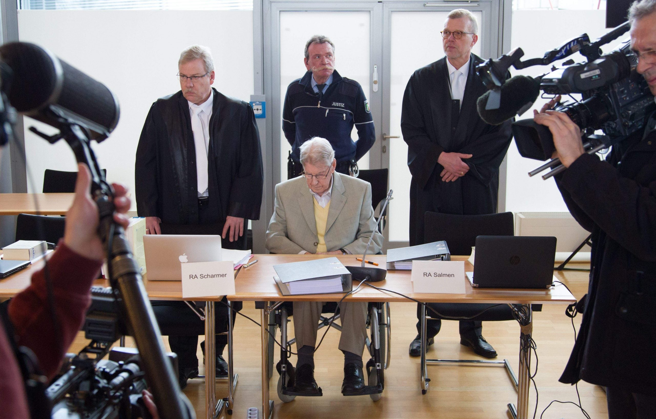 An Auschwitz guard has been sentenced to five years in jail. Has the law failed?