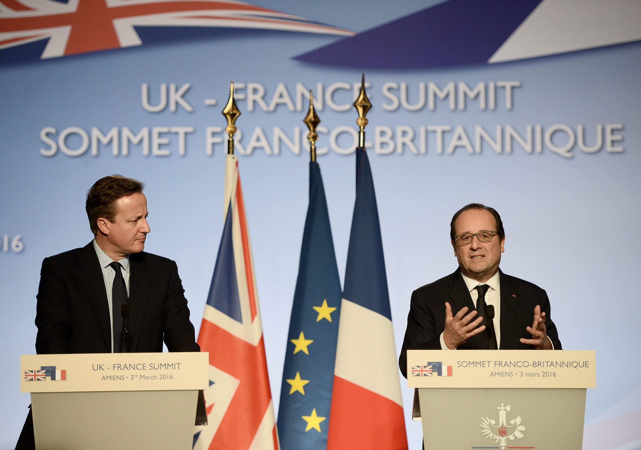France and the UK must work together to combat the refugee crisis