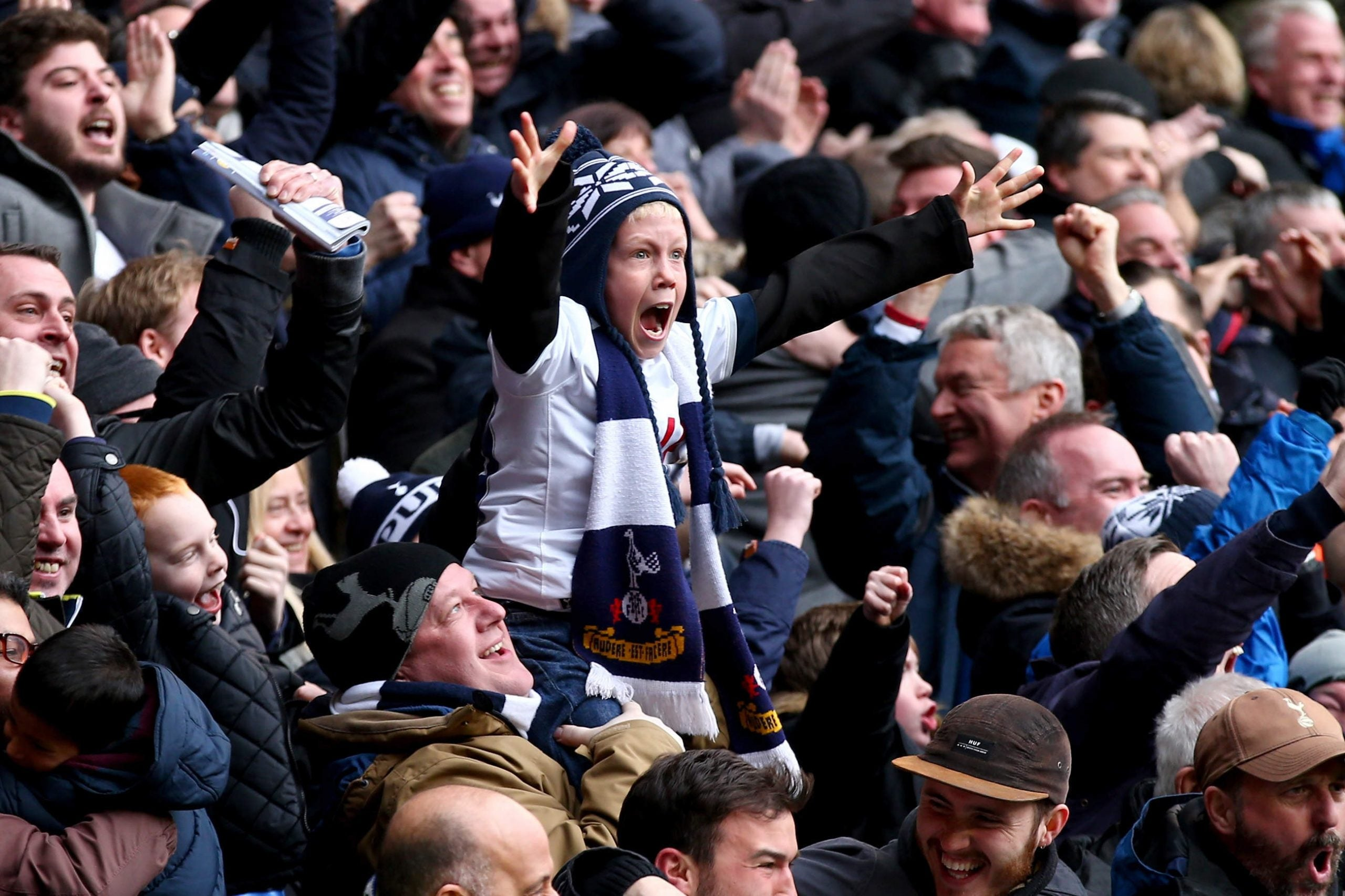 Let's face it: supporting Spurs is basically a form of charity