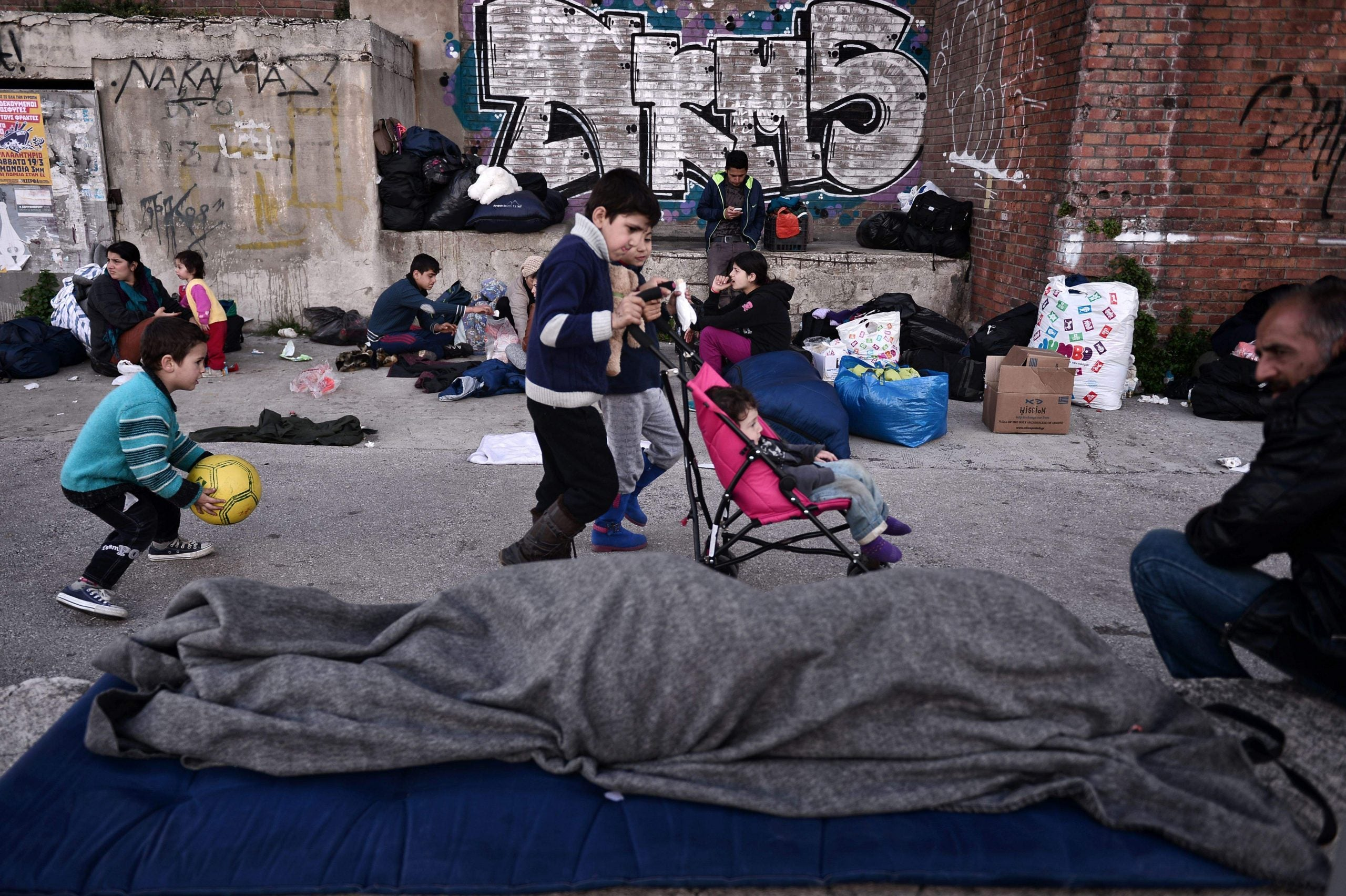 What I learned when I visited a refugee camp in Greece