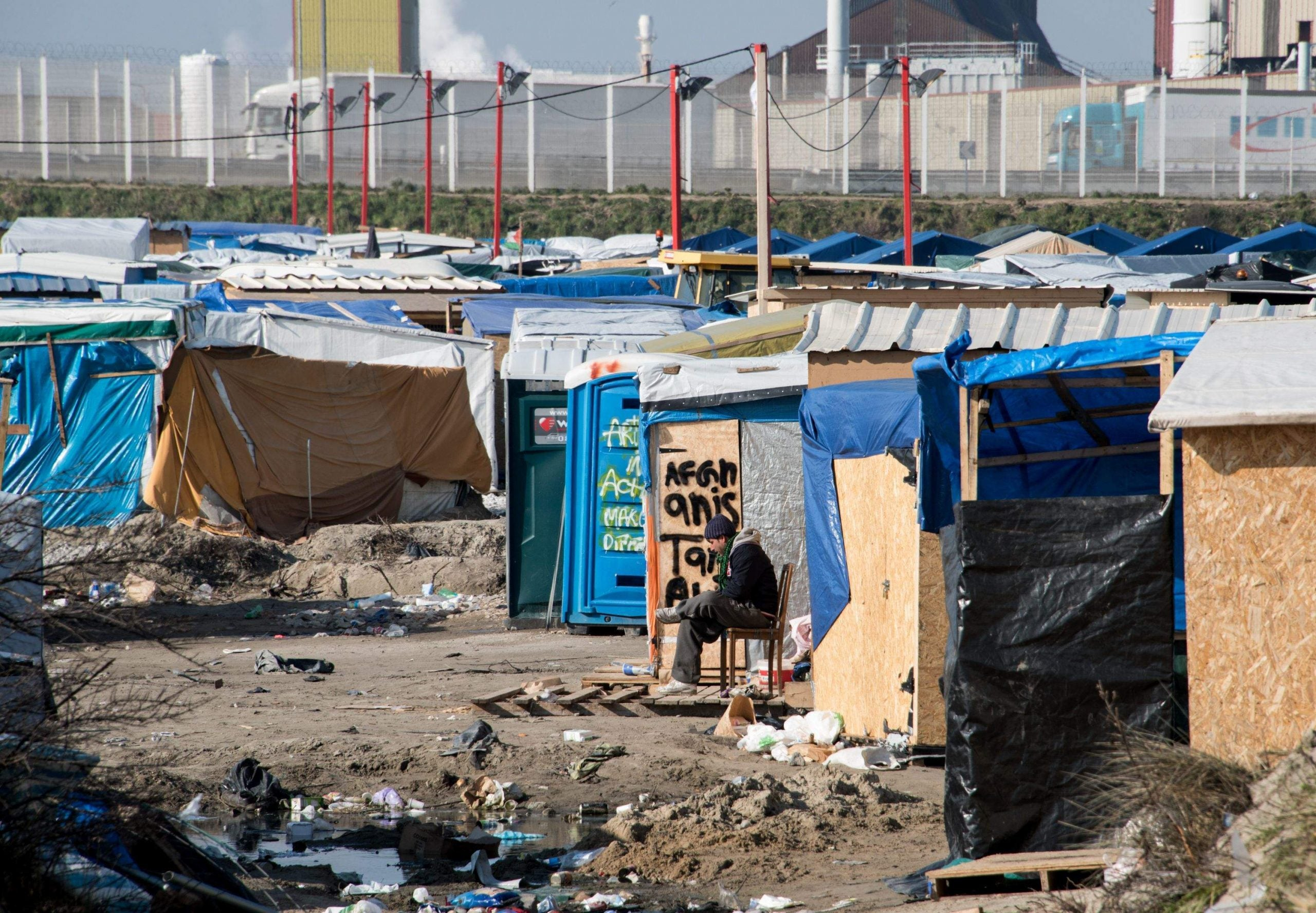 """What would really happen to the Calais """"Jungle"""" camp if the UK leaves the EU?"""