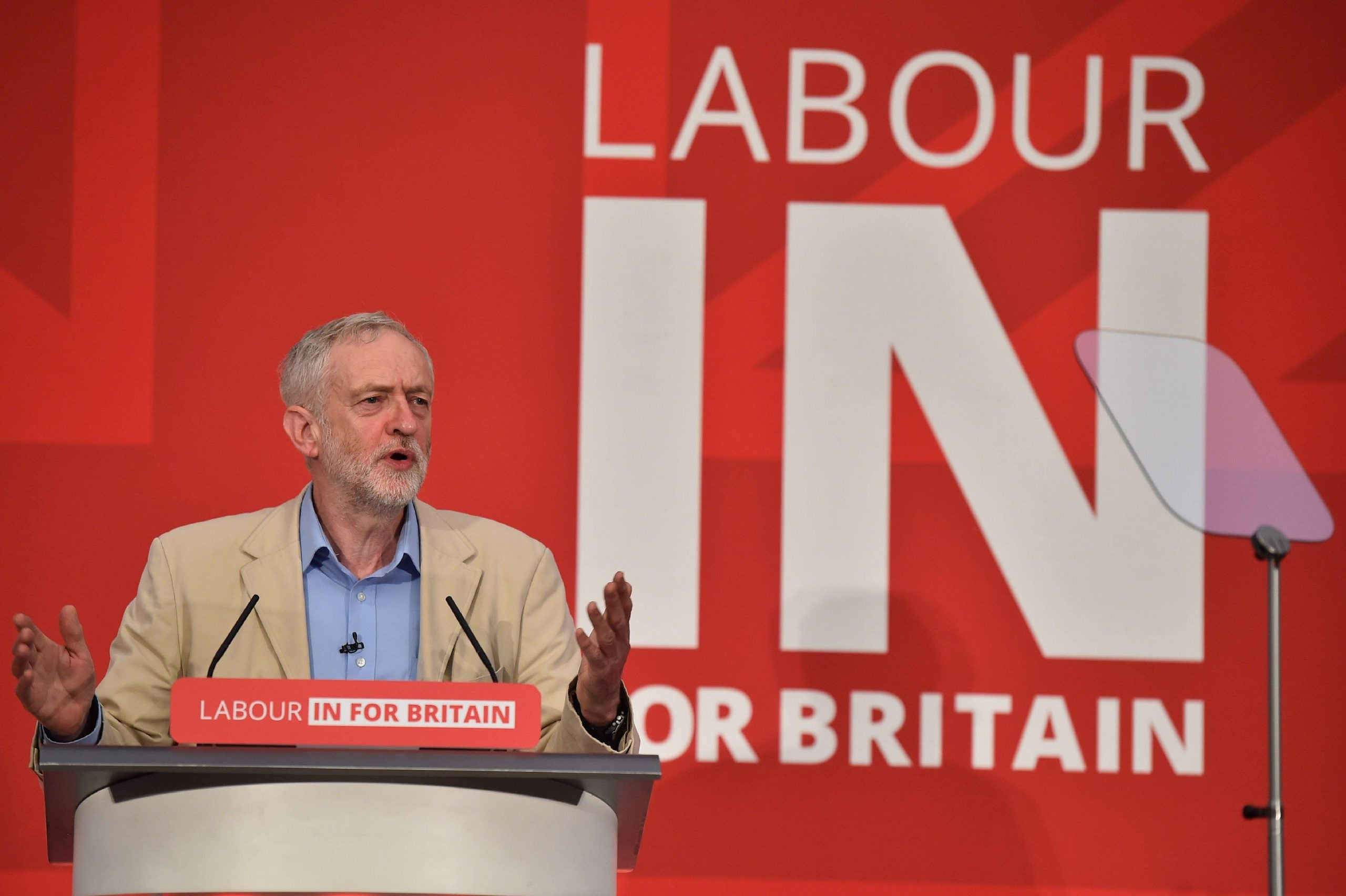 Jeremy Corbyn's speech swept away any doubts about his commitment to EU membership