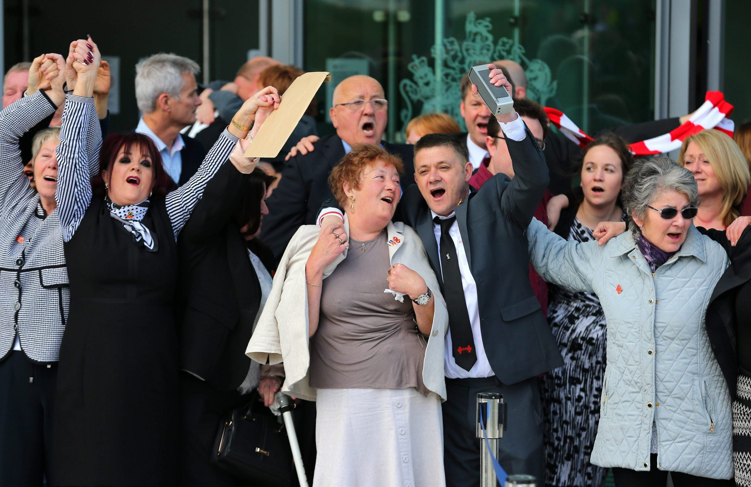 Hillsborough inquest finds 96 fans were unlawfully killed in 1989 disaster