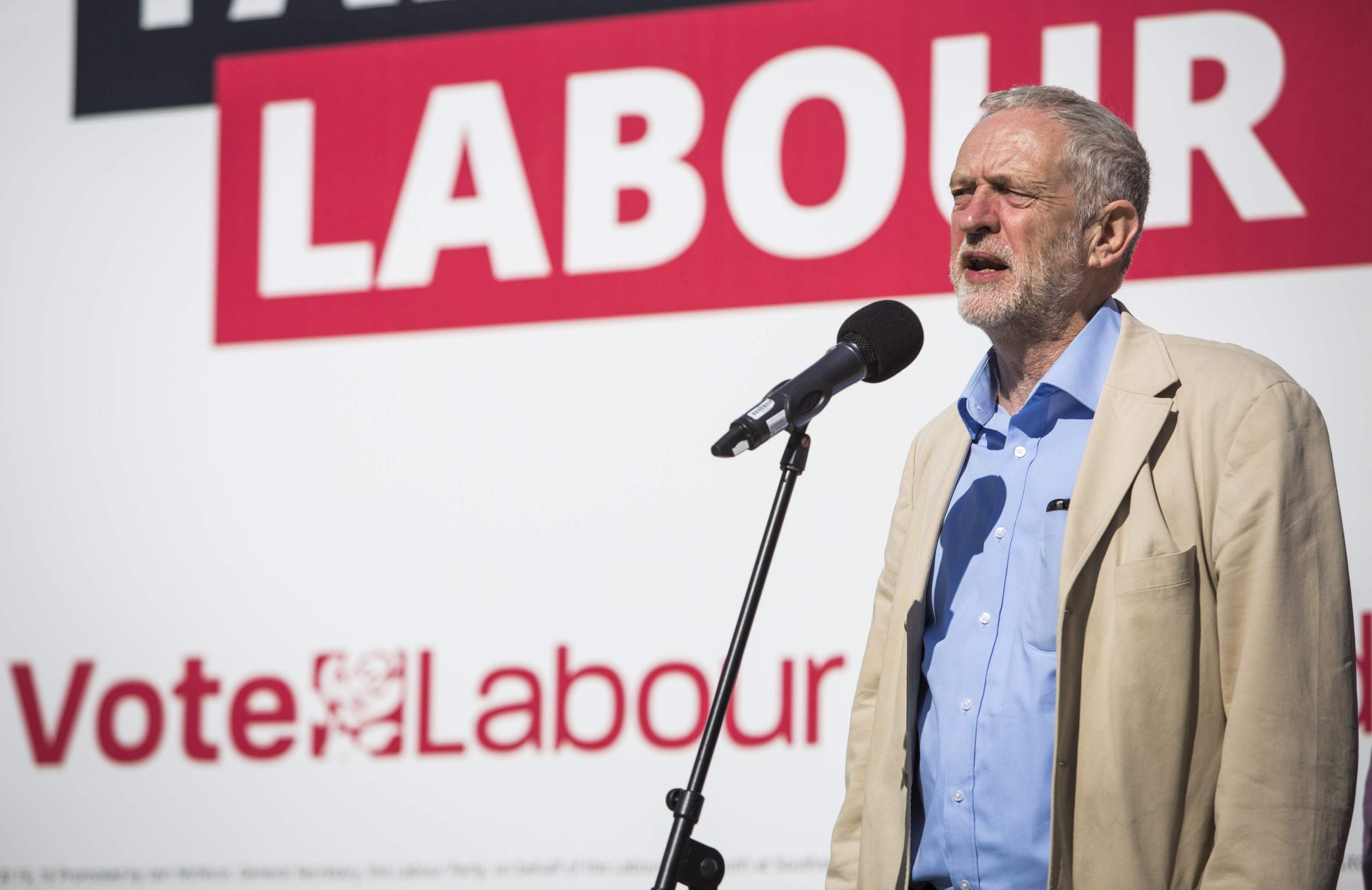 As long as Jeremy Corbyn's Labour opponents are divided, he will rule