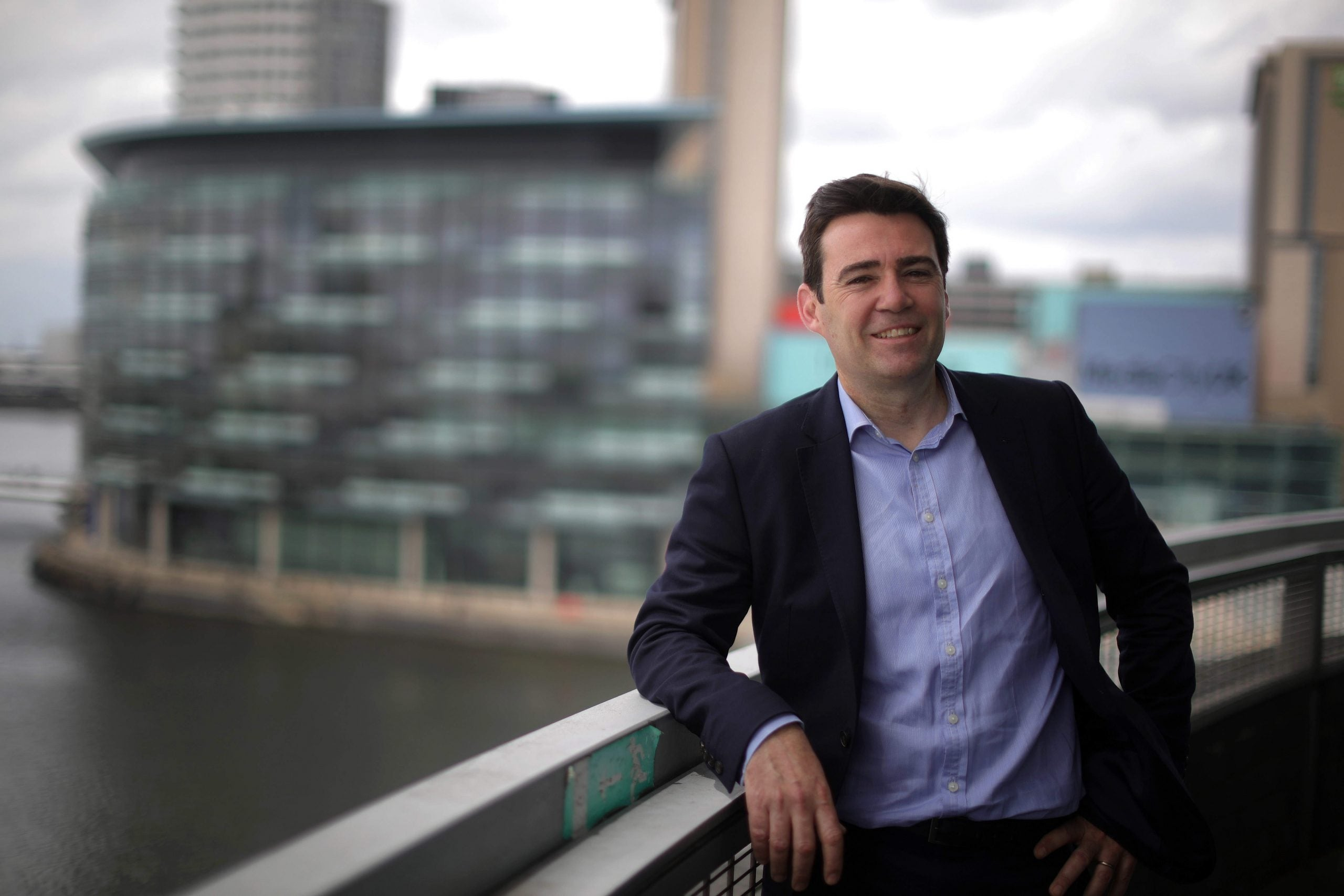 Andy Burnham has found the radical centre – and it could win him Greater Manchester