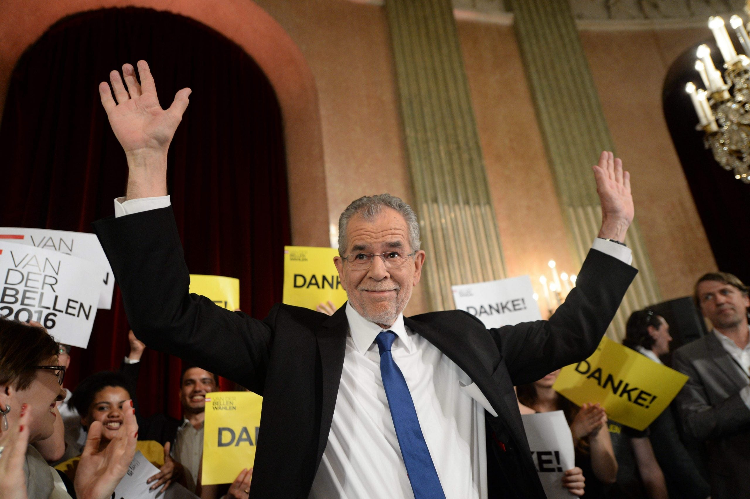 Austria rejects far-right presidential candidate by narrow margin