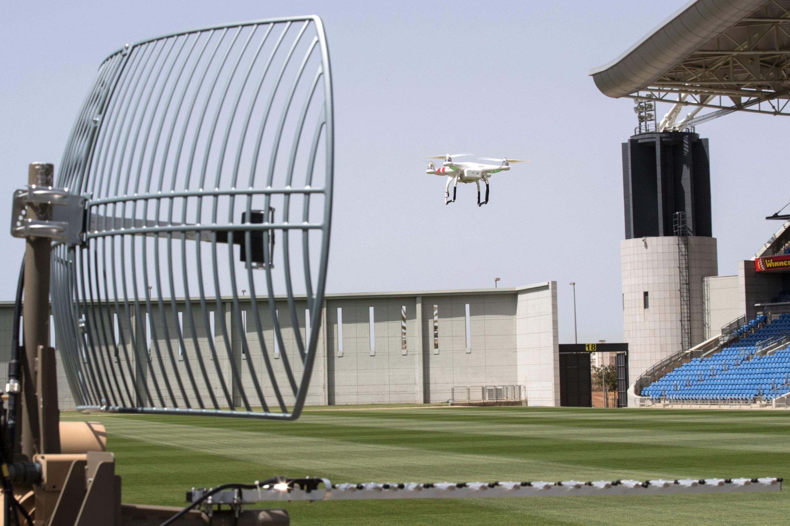 There'll come a day when professional football is played by drones