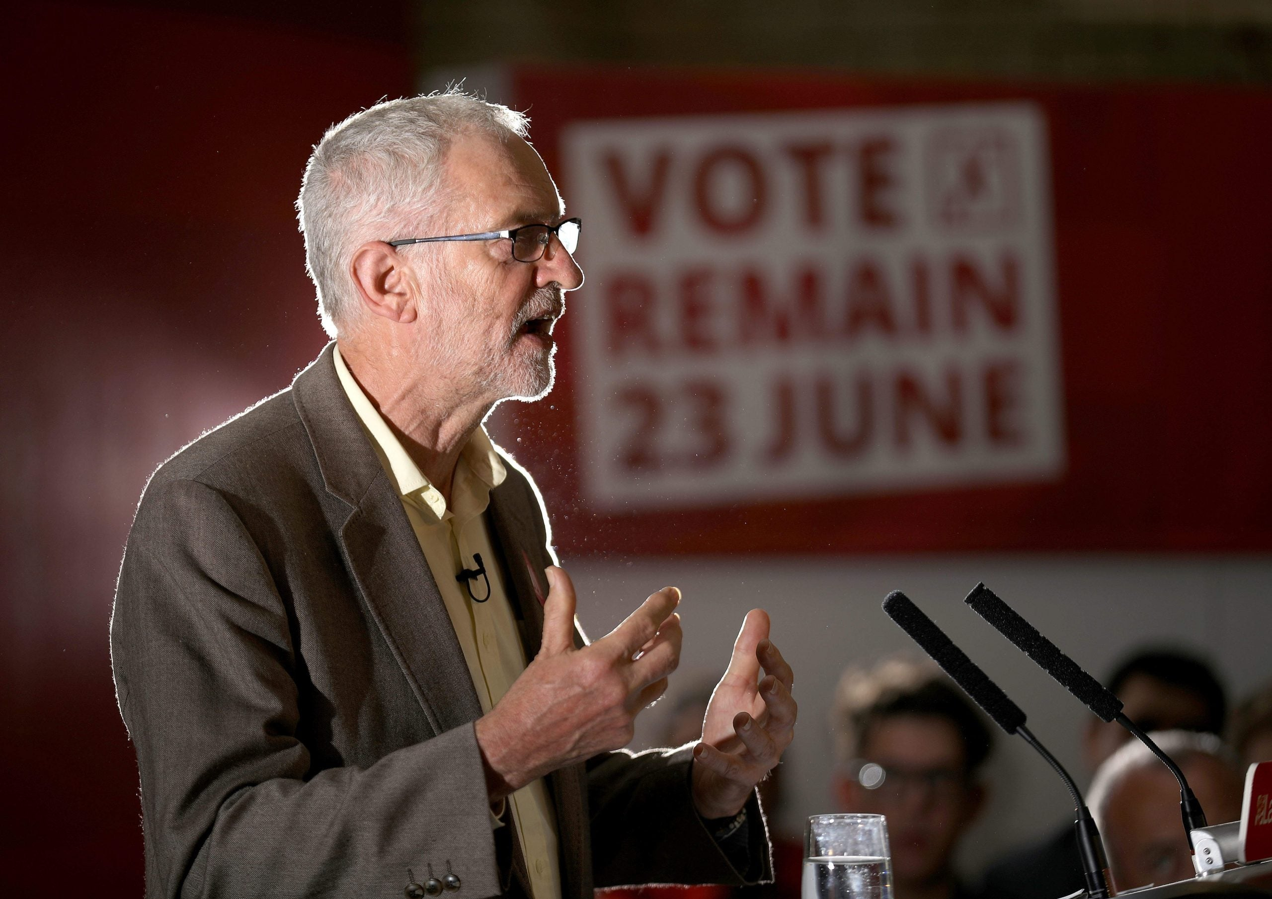 Jeremy Corbyn would still vote Remain – so let's commit to the single market and customs union