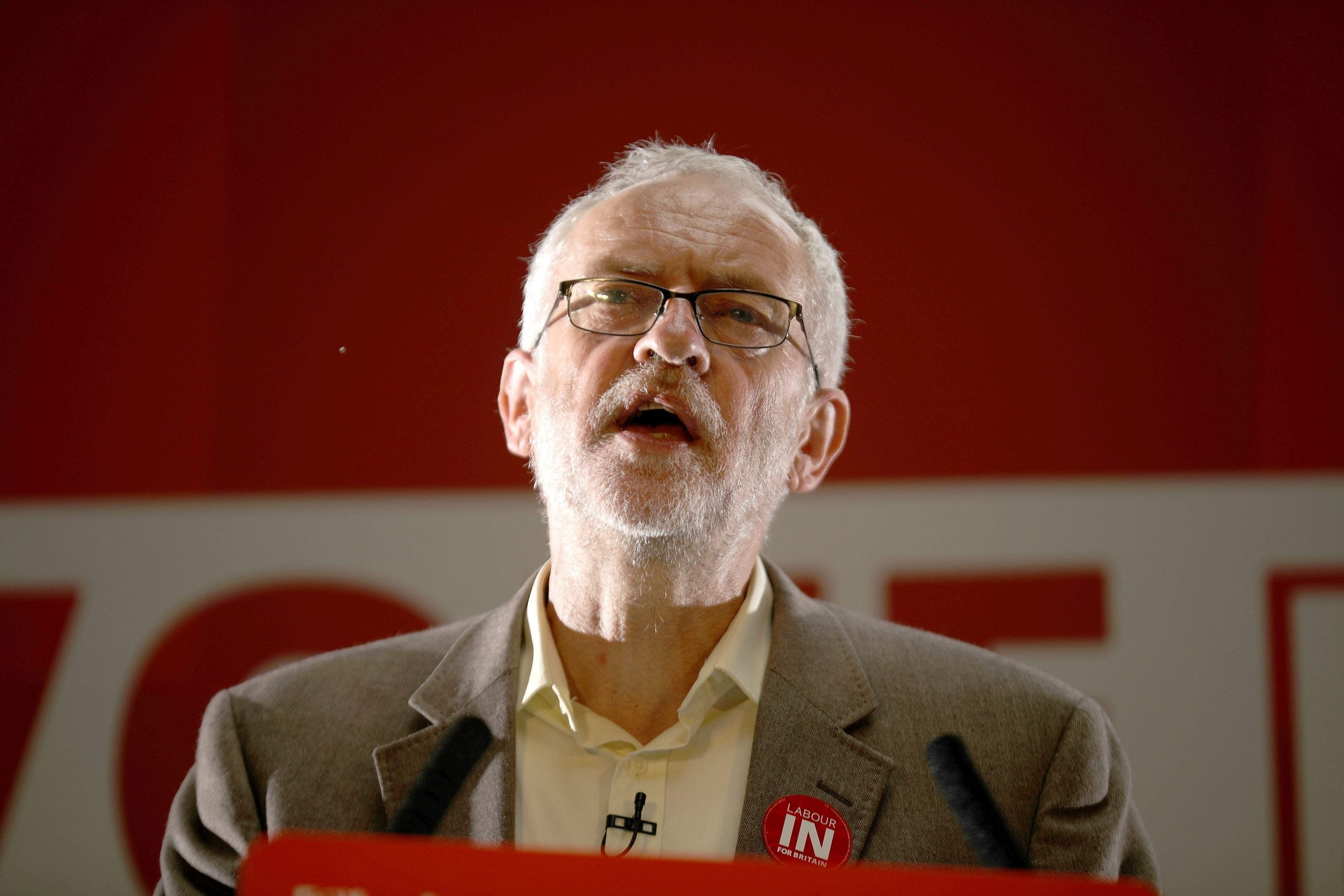 Opponents of Jeremy Corbyn should name their challenger - the Labour leader's ready for battle