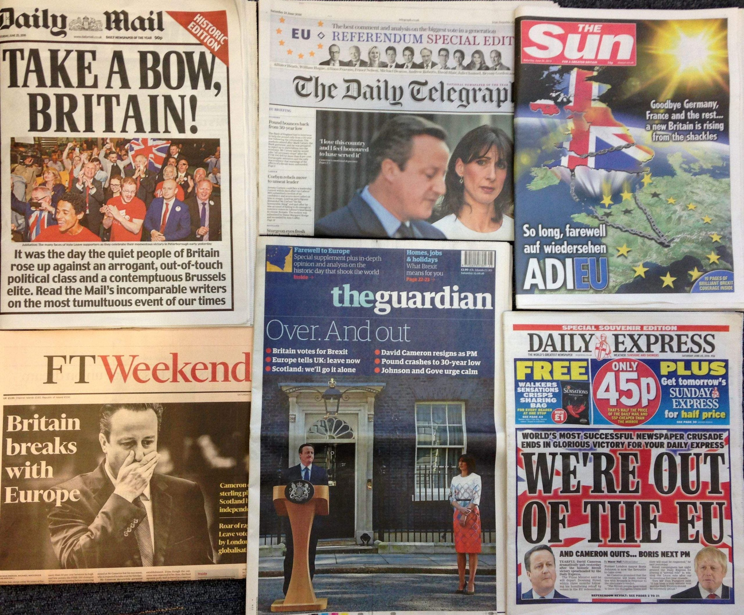 The 12 ways the media turned Brexit into an attack on immigration