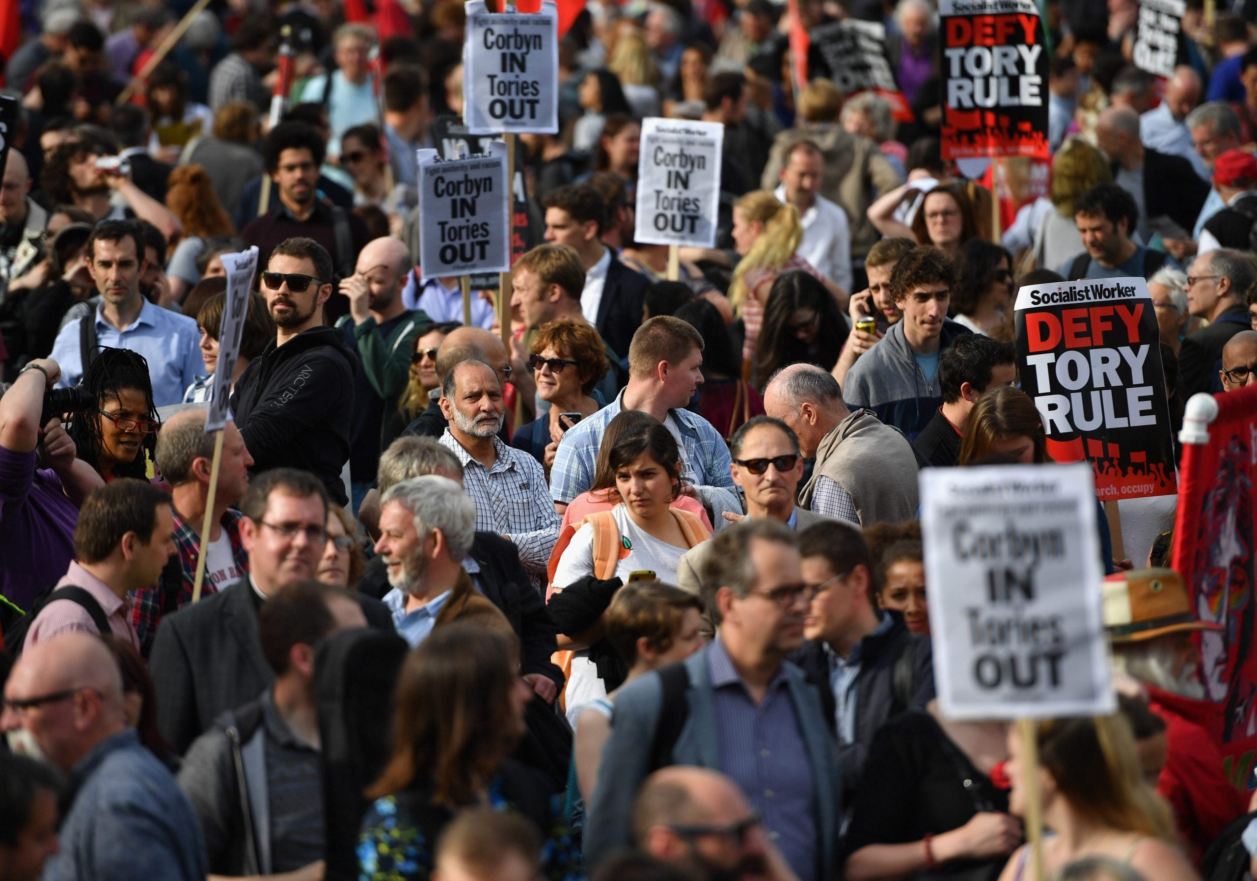 How Momentum entered the crisis zone