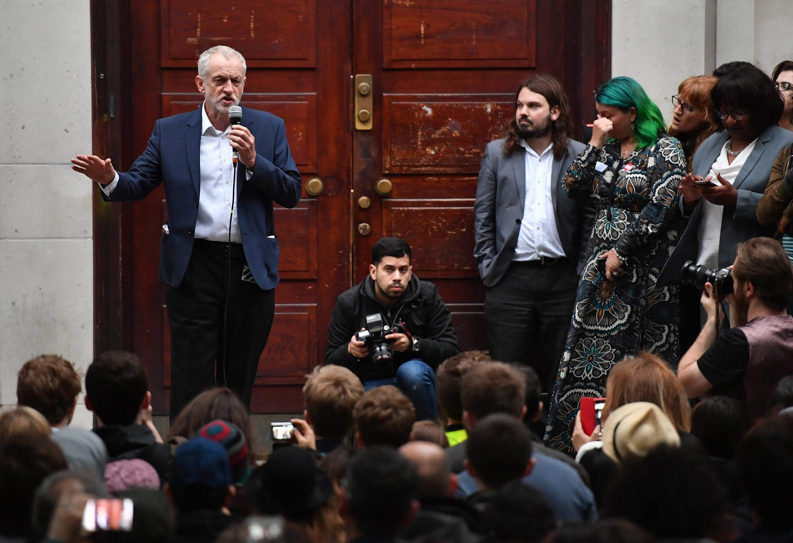 Jeremy Corbyn fights to the last in the war both sides knew would come