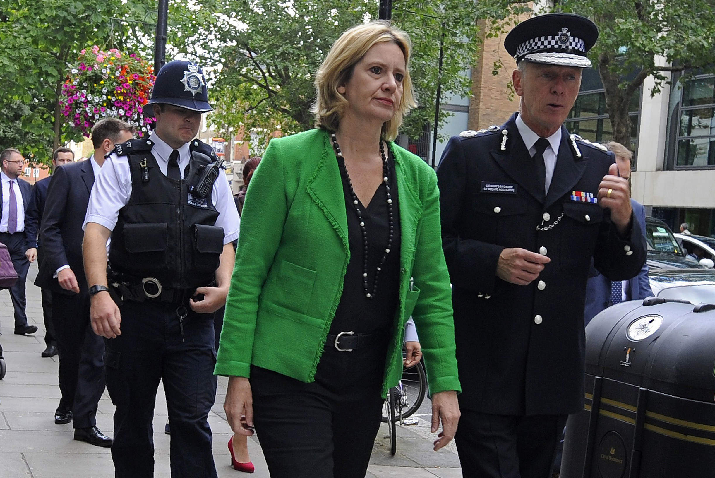 Cabinet audit: what does the appointment of Amber Rudd as Home Secretary mean for policy?