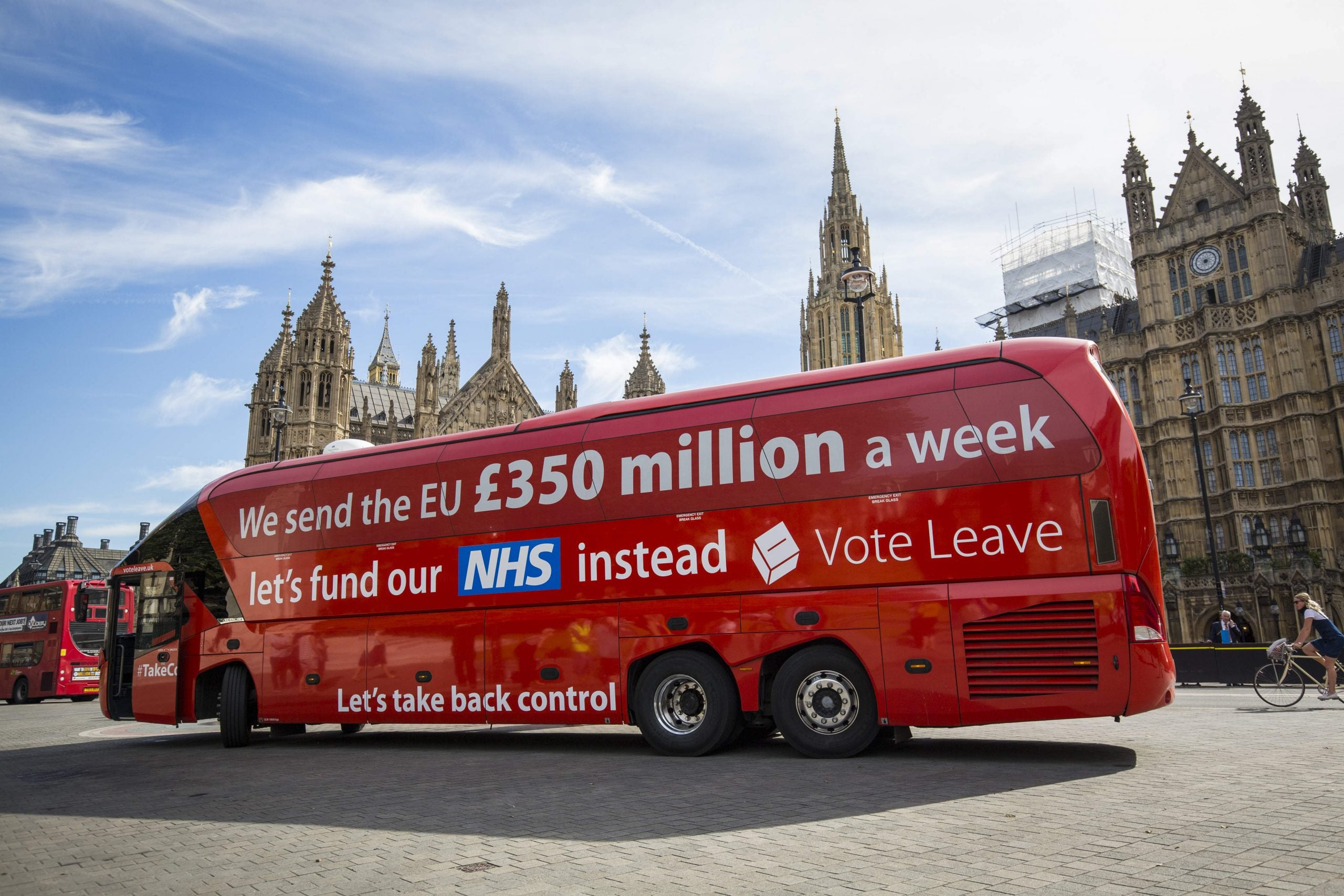 It's official – there's a £200m hole in the Brexit bus NHS promise