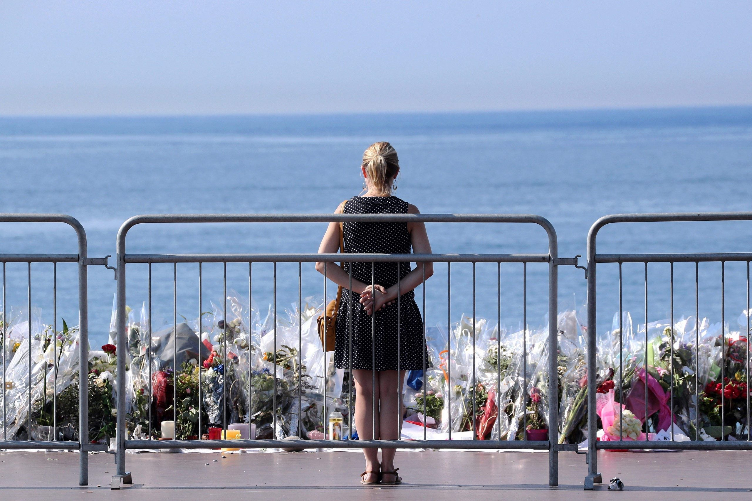 """Nice attack one year on: """"How can anyone bear to visit the beach?"""""""