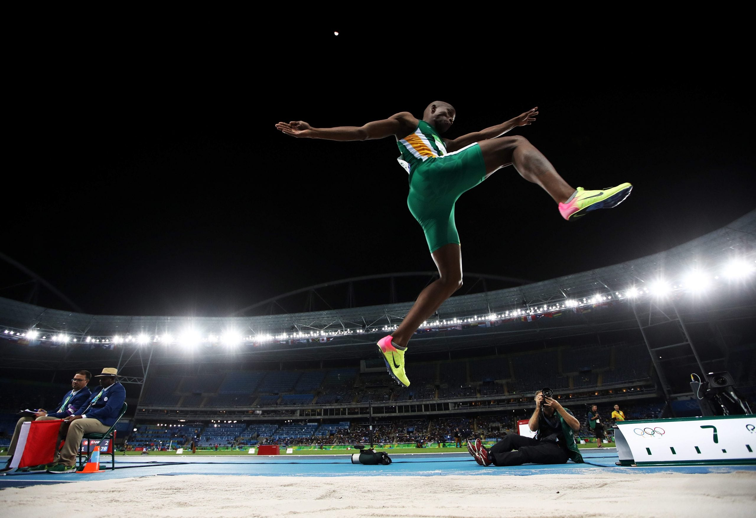 How South Africa's Luvo Manyonga beat crystal meth to win an Olympic medal