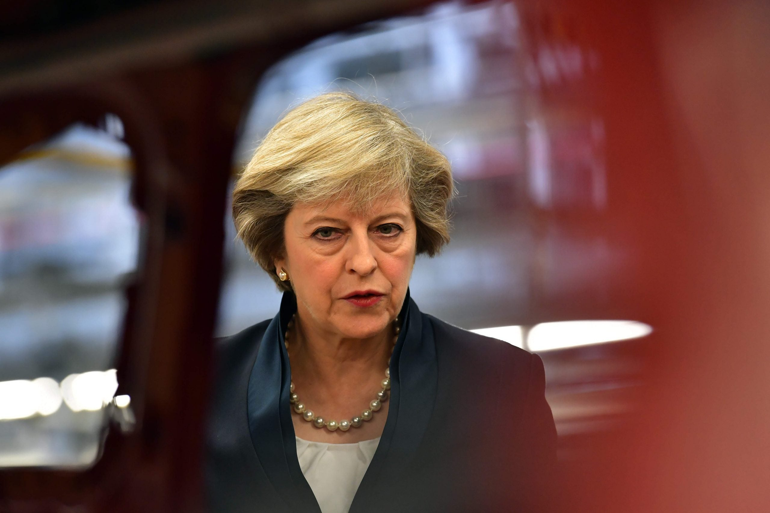 Leader: Mrs May is coming for Labour