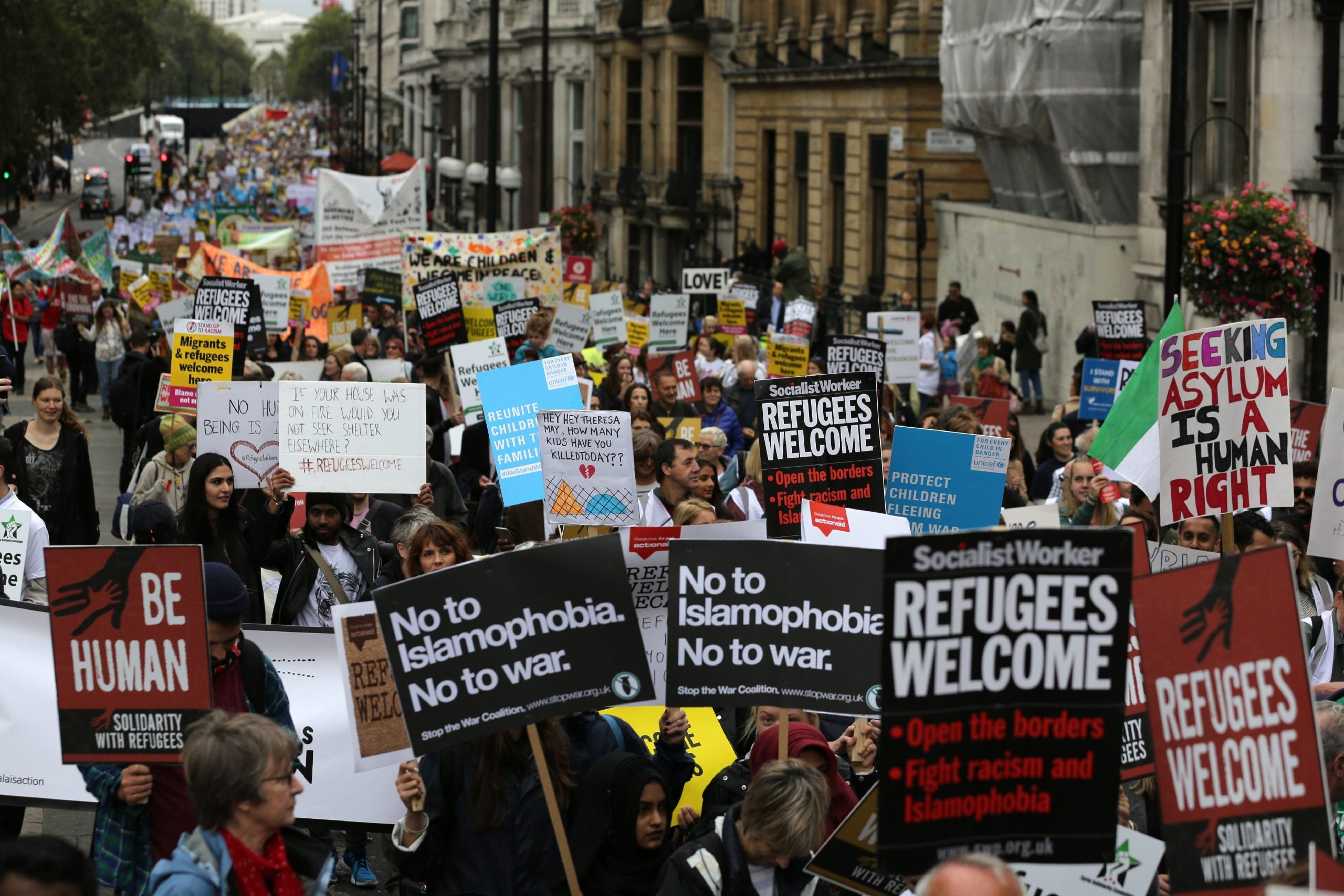 Tim Farron: The Tories' attitude to refugees shames our country