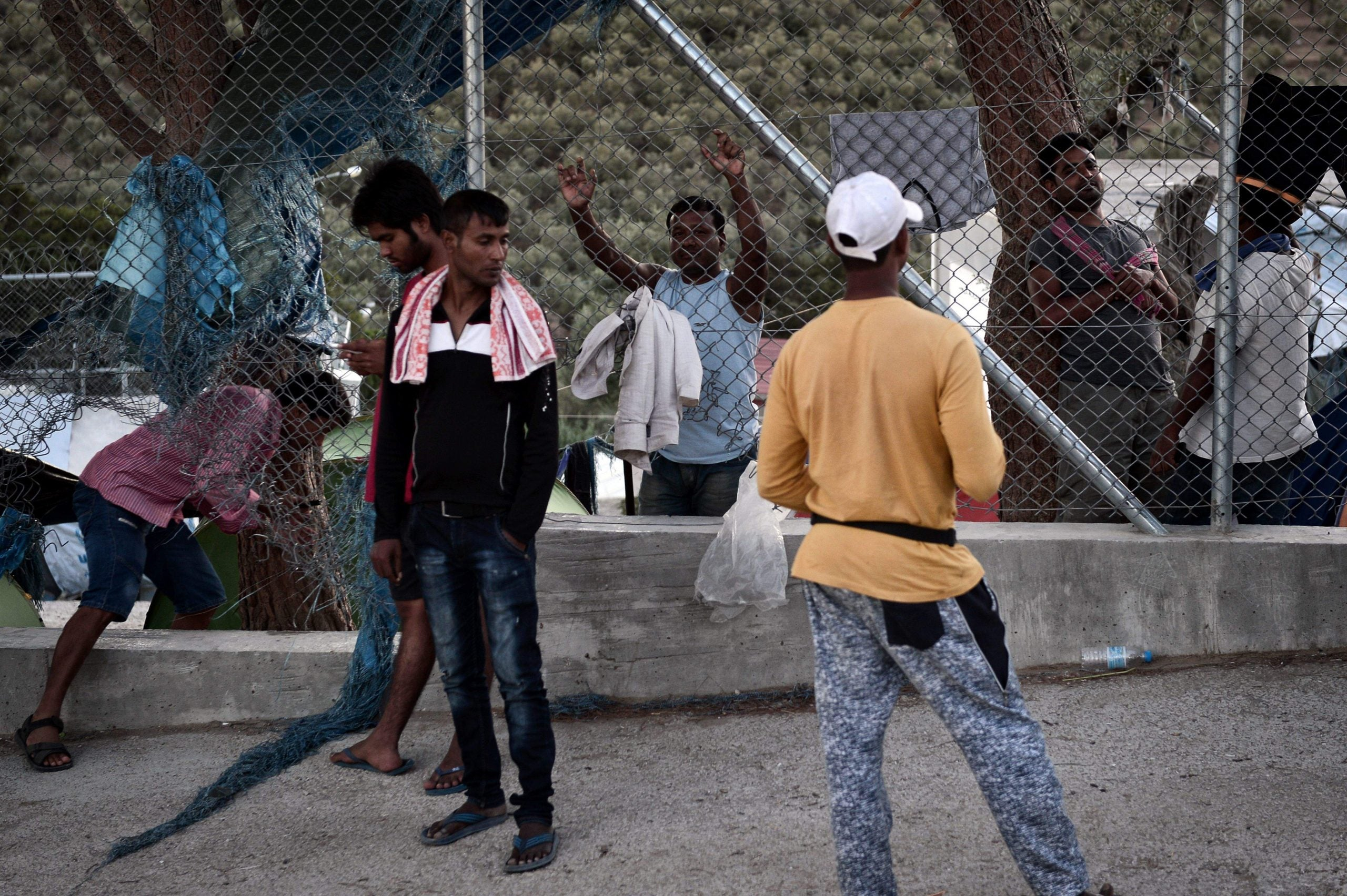 """""""Full understand"""": The new language of the Lesvos refugee camp"""
