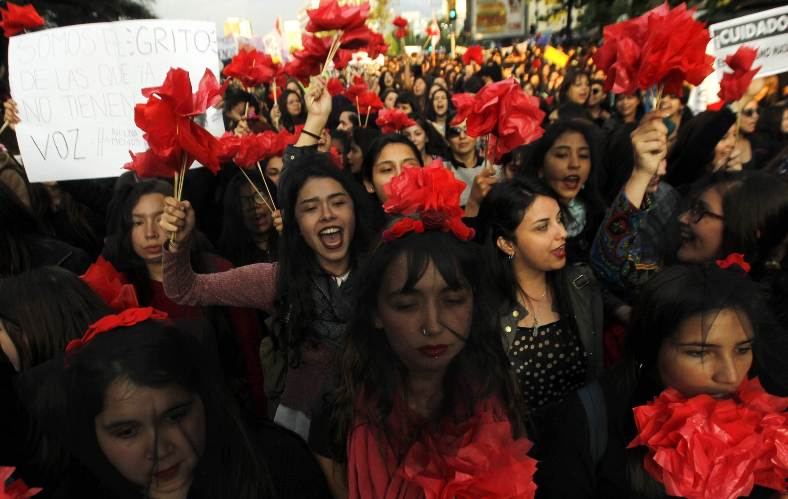 """How one woman's murder made Argentina rethink the idea of """"crimes of passion"""""""