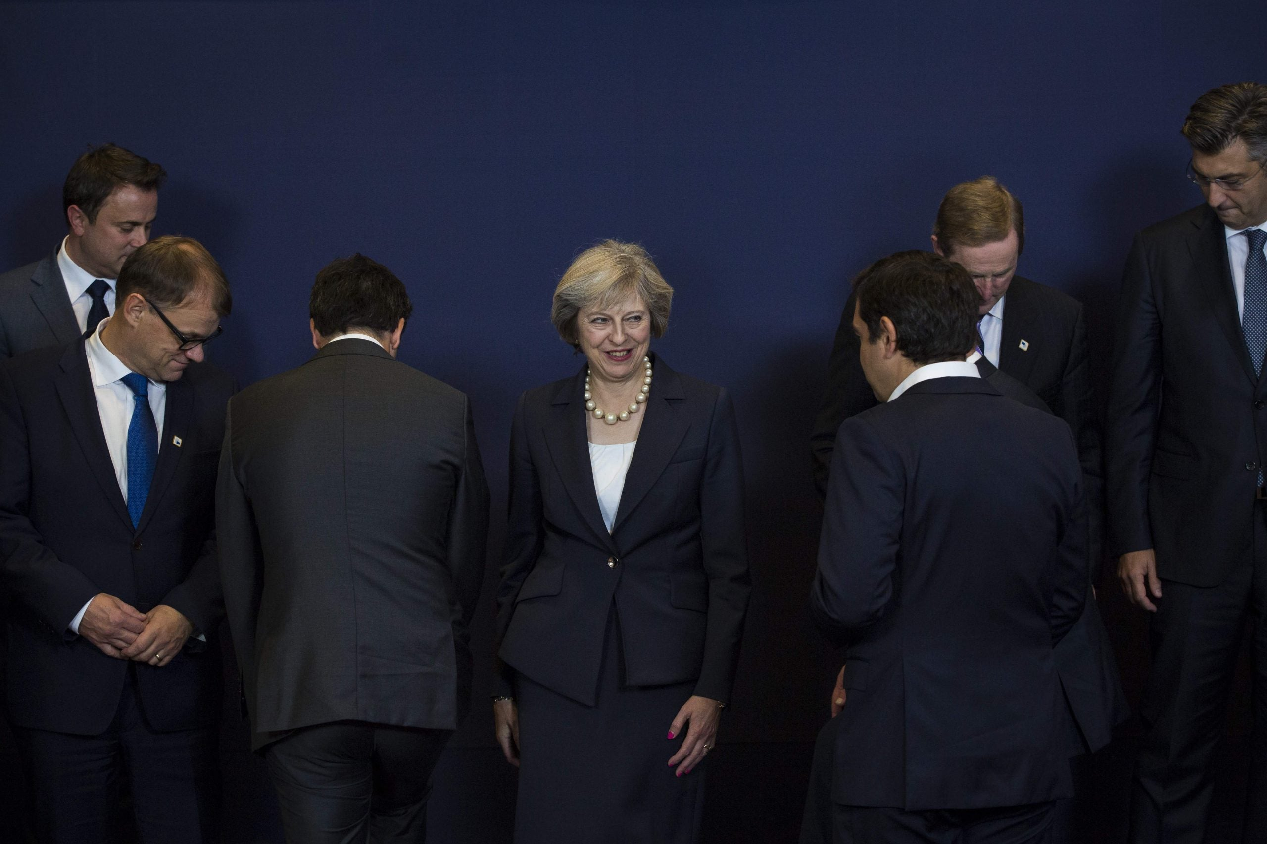 Theresa May can play big fish with devolved nations - in the EU she's already a nobody