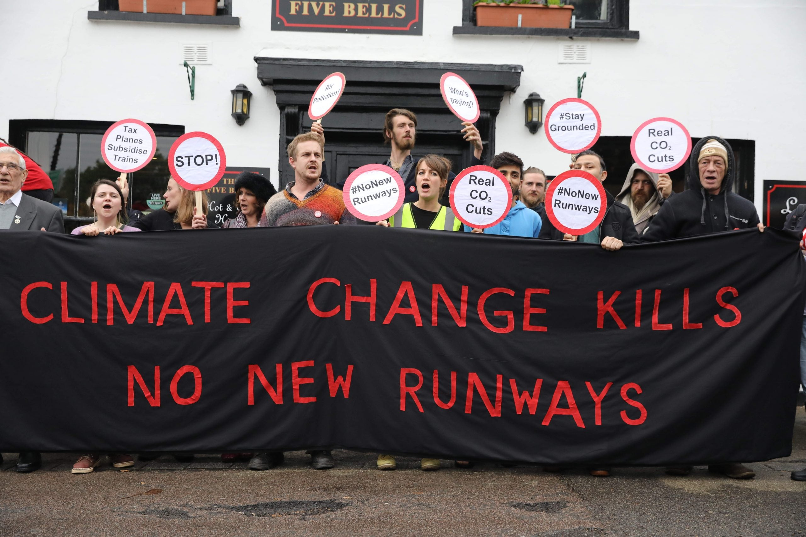 The legal challenge that could stop a third runway at Heathrow
