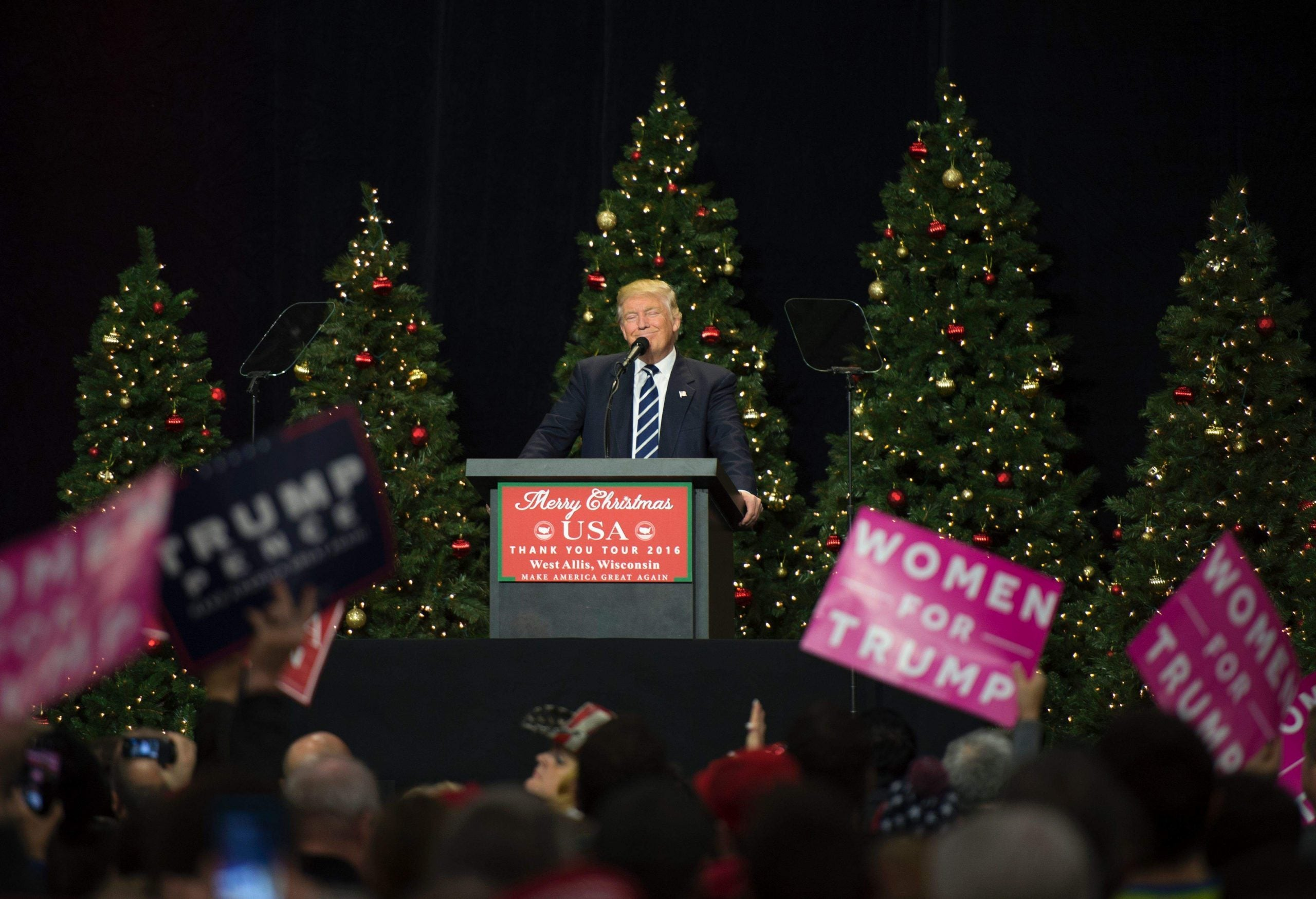 Many white evangelicals stand by Trump because they are more white than evangelical