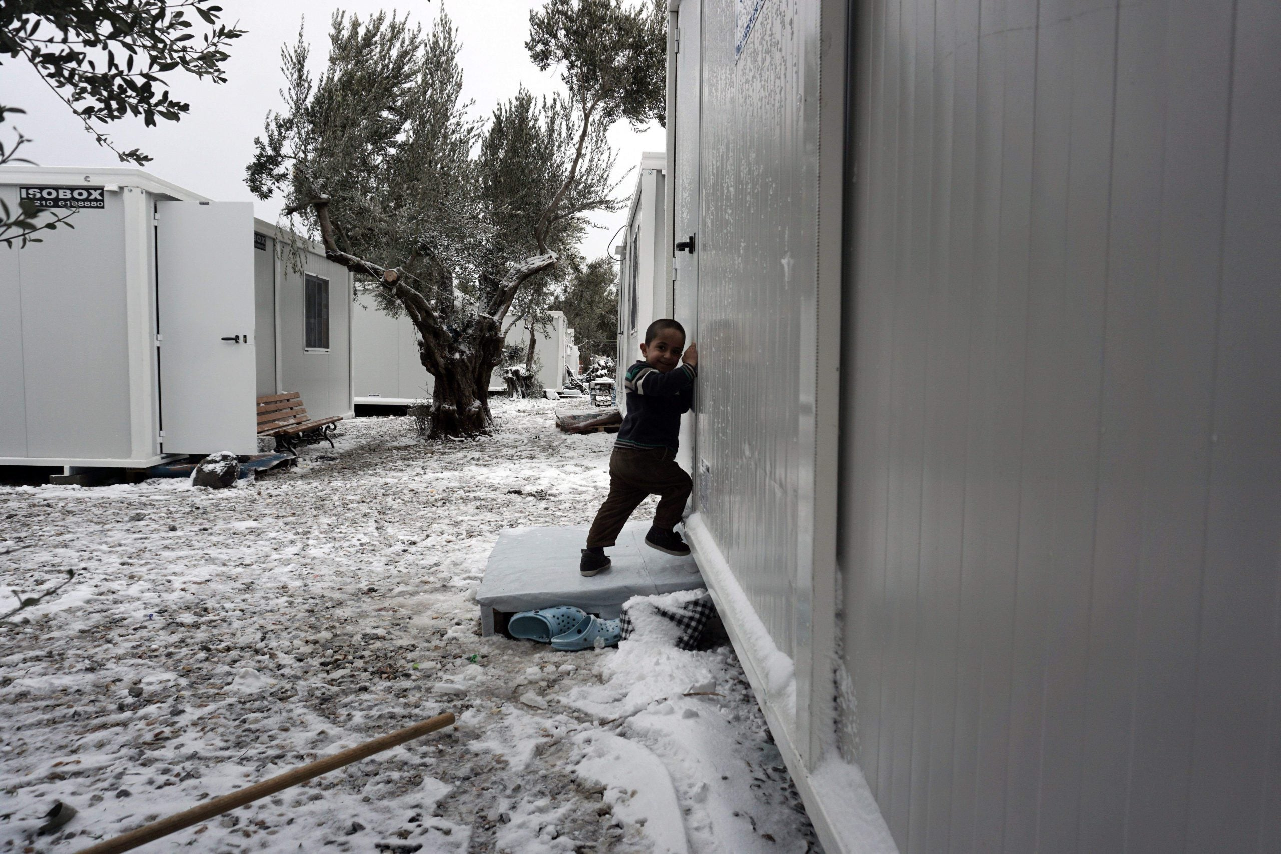 Greece's frozen children: what will happen to young refugees?