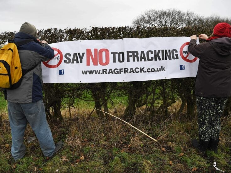 The Tories are pushing through fracking. Labour will ban it