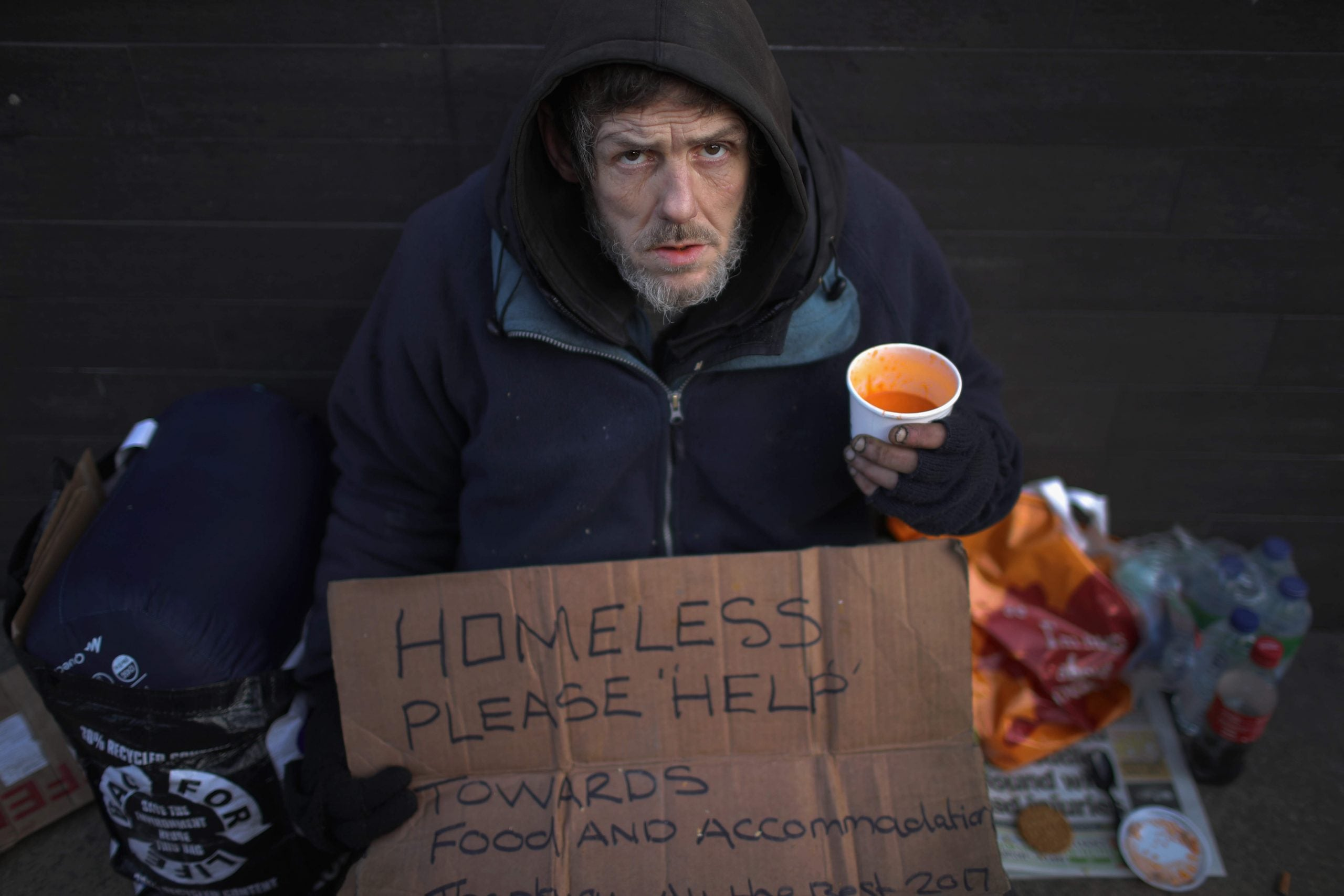 Can metro mayor favourite Andy Burnham solve Manchester's homelessness problem?