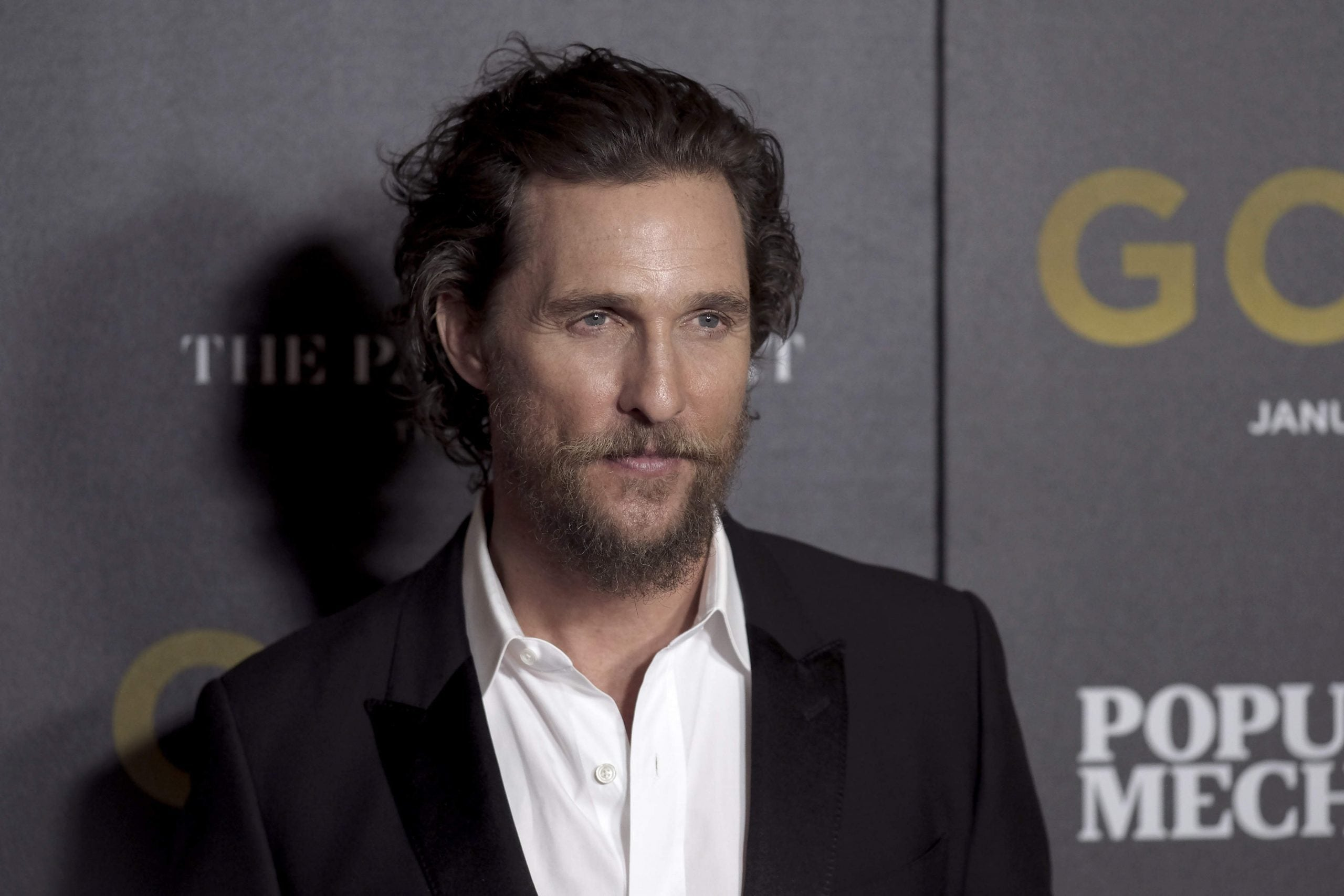 """""""No, you sit there, I'll just pace around"""": meeting Matthew McConaughey"""