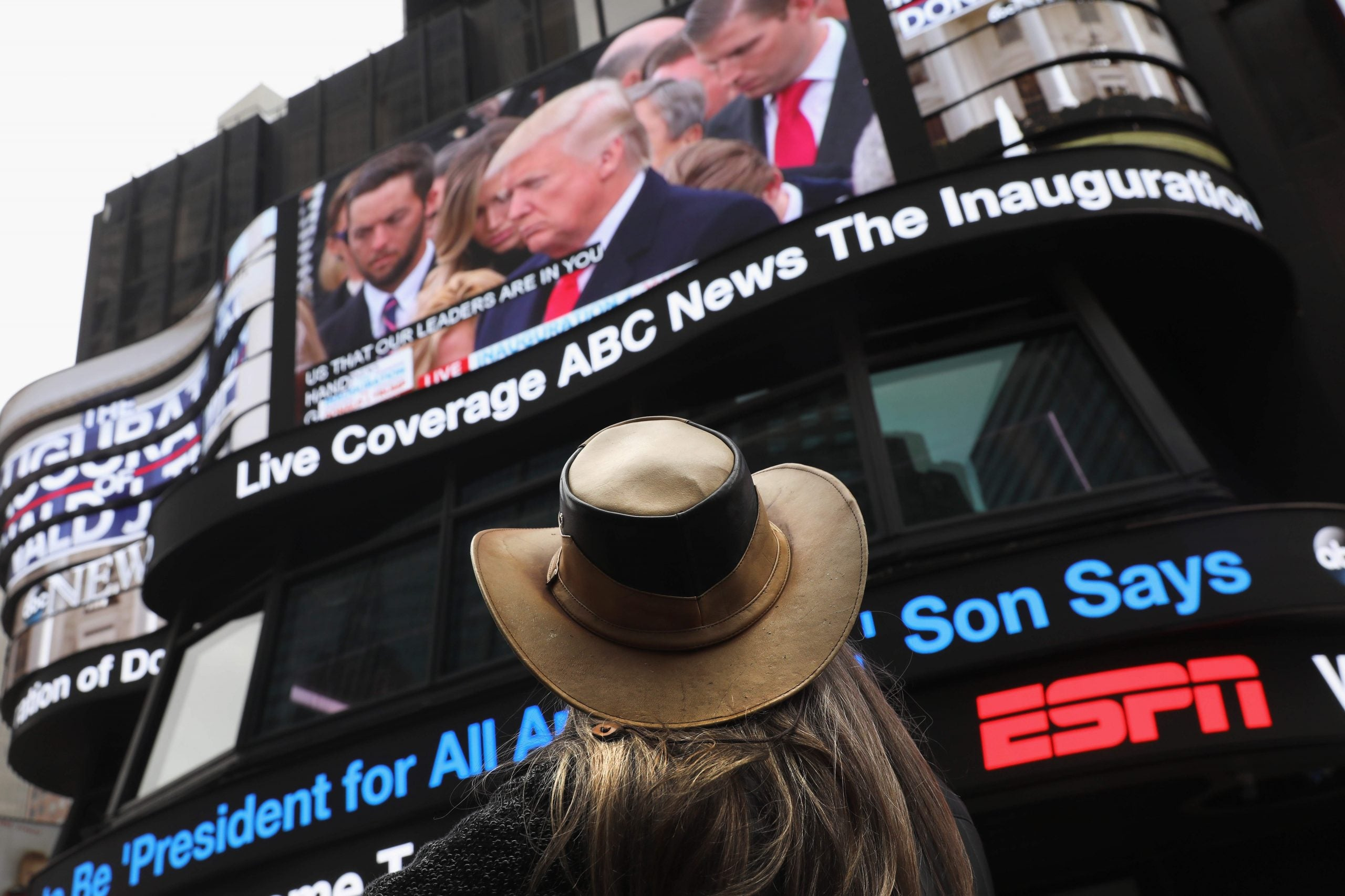 How should journalists respond to Trump? Their response to his inauguration gives some clues