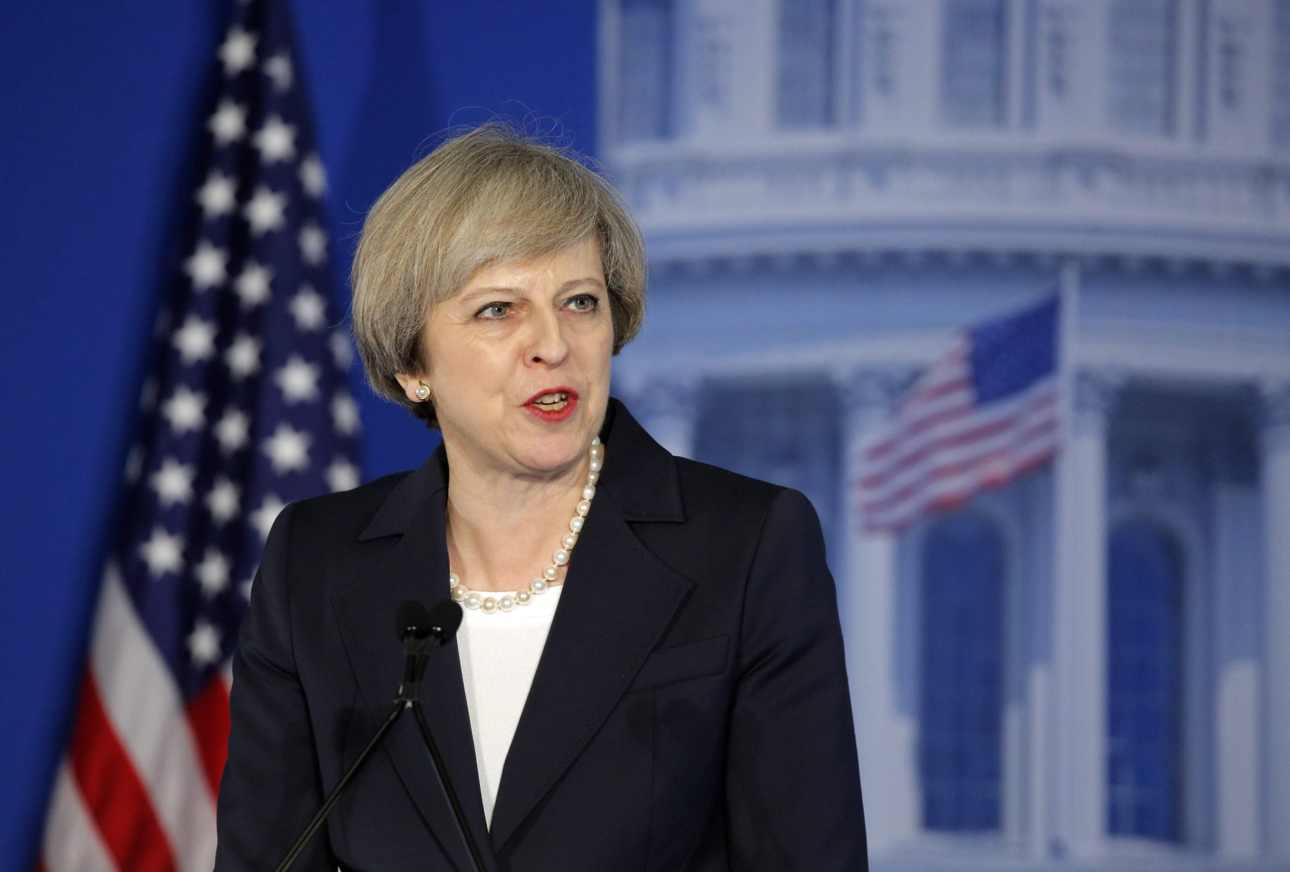Like any woman working with a misogynist, Theresa May should call out Donald Trump's sexism