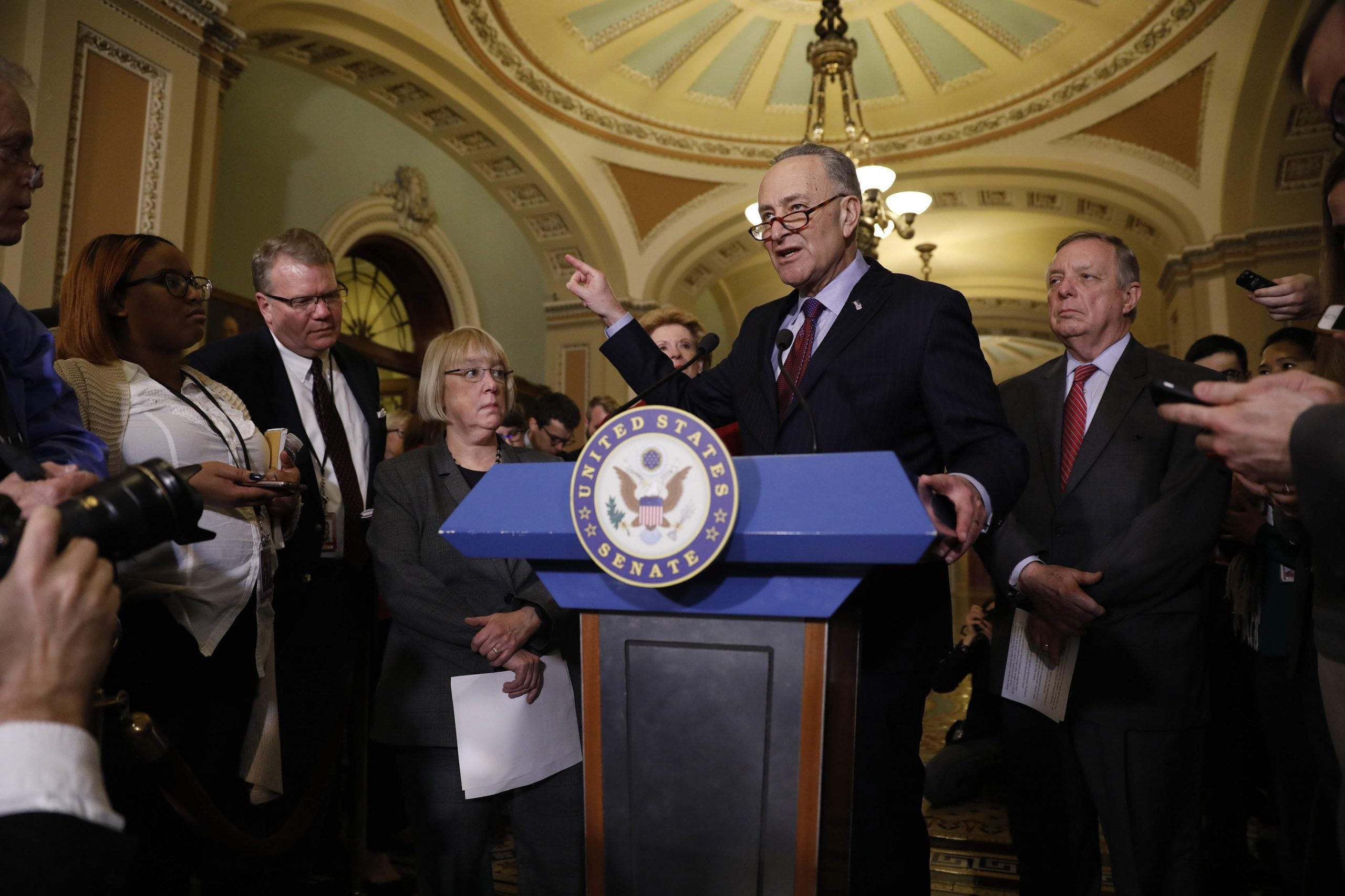 The Democrat plan for opposing Donald Trump's administration