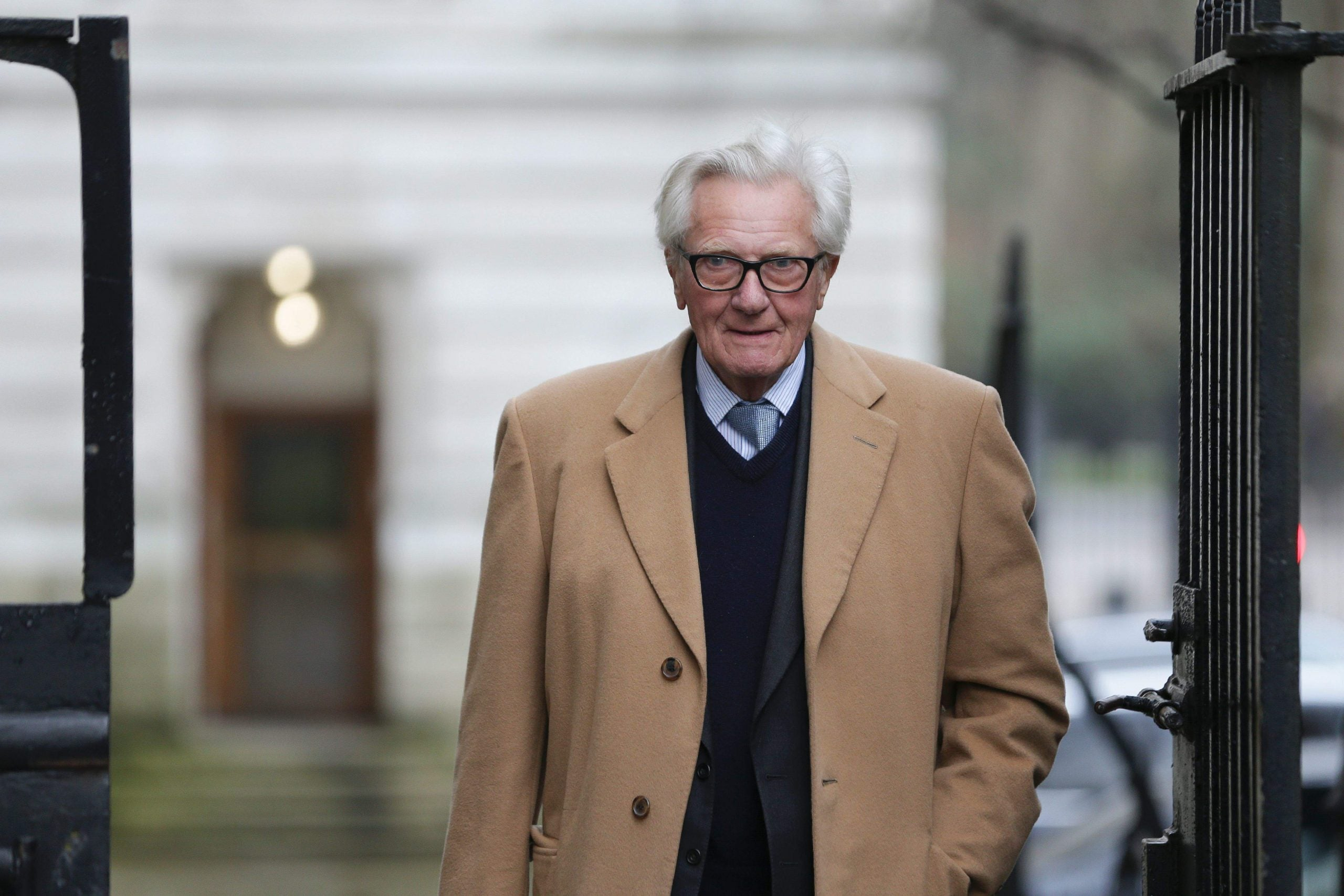 """Michael Heseltine calls for """"second referendum or general election"""" on the Brexit deal"""