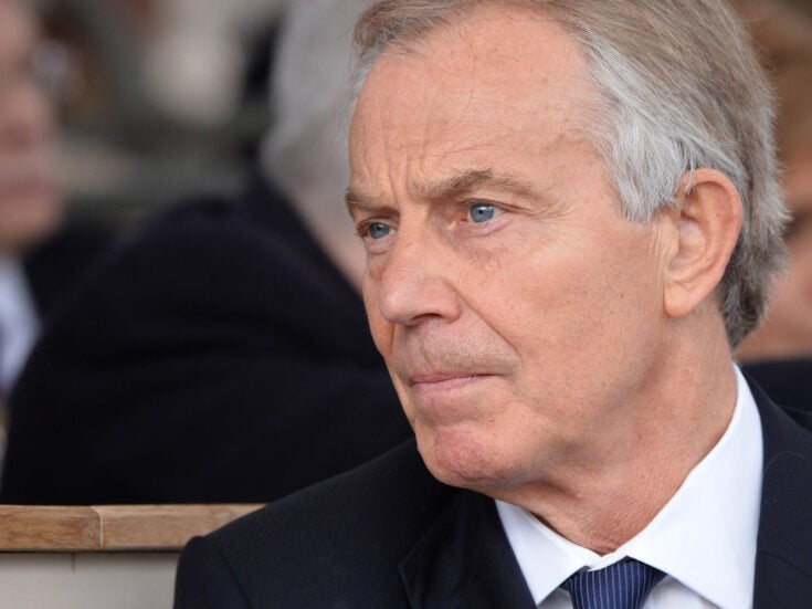 Commons Confidential: Tony Blair pays his dues
