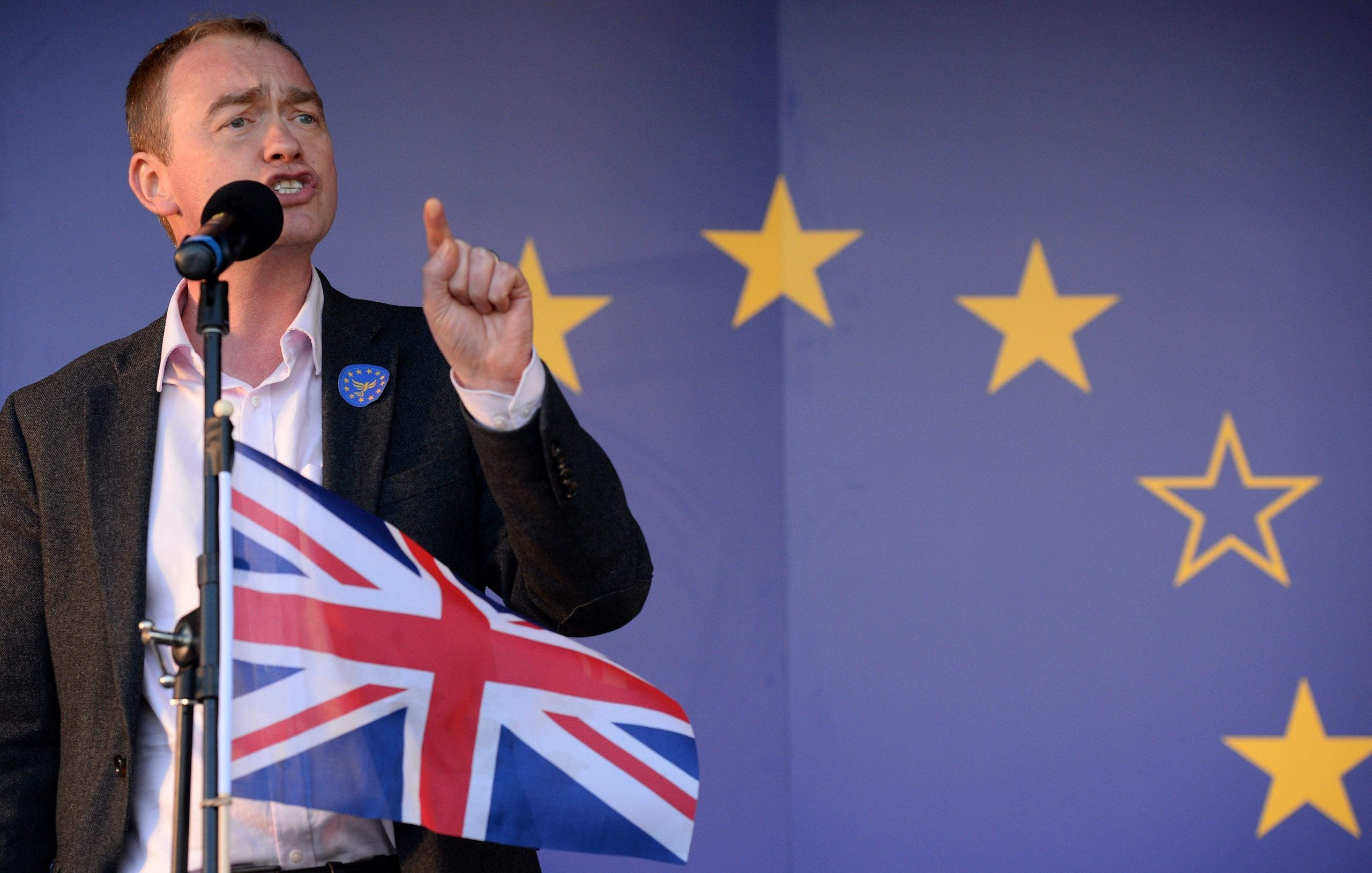 Tim Farron: Brexit and Conservative rule are not inevitable