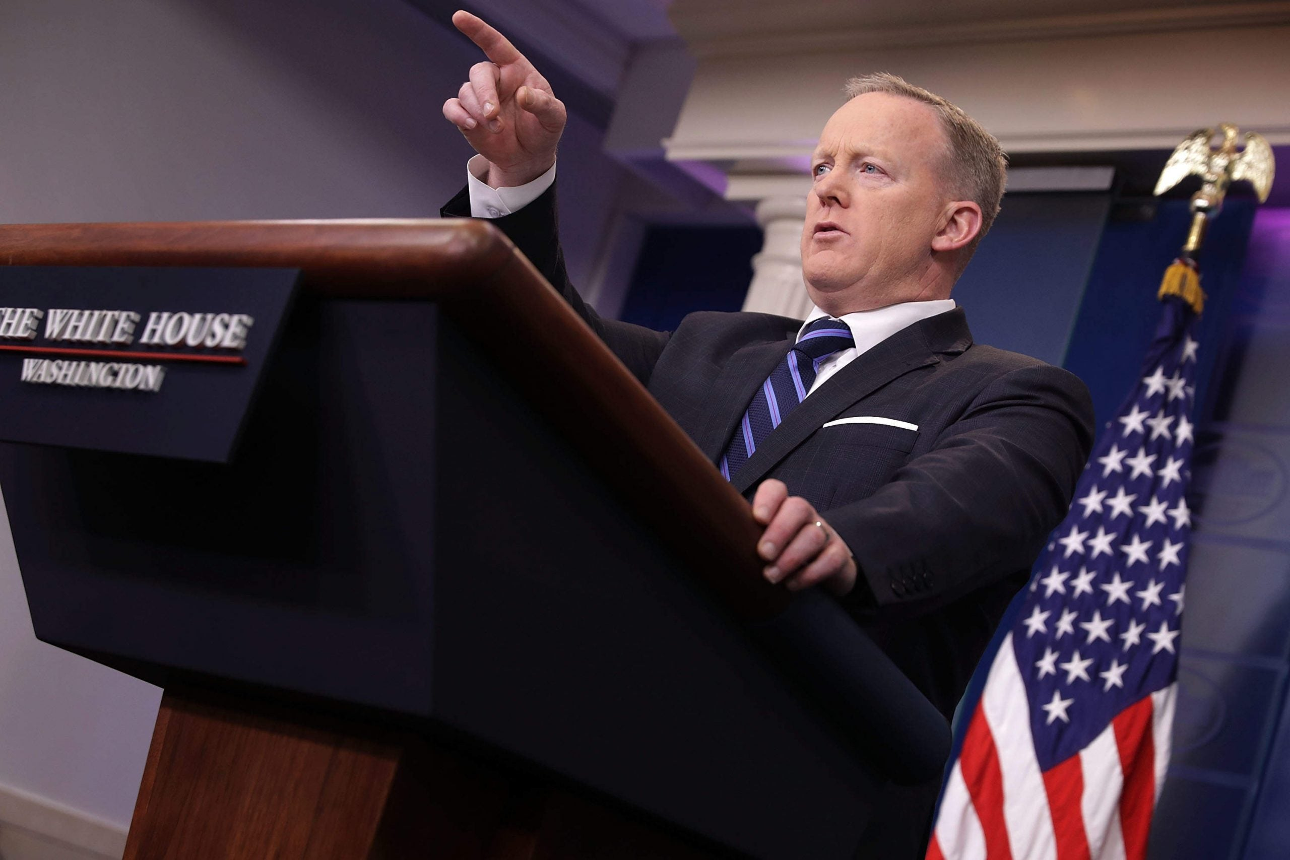 Trump's spokesman Sean Spicer came over as either antisemitic or clueless - neither is a great look
