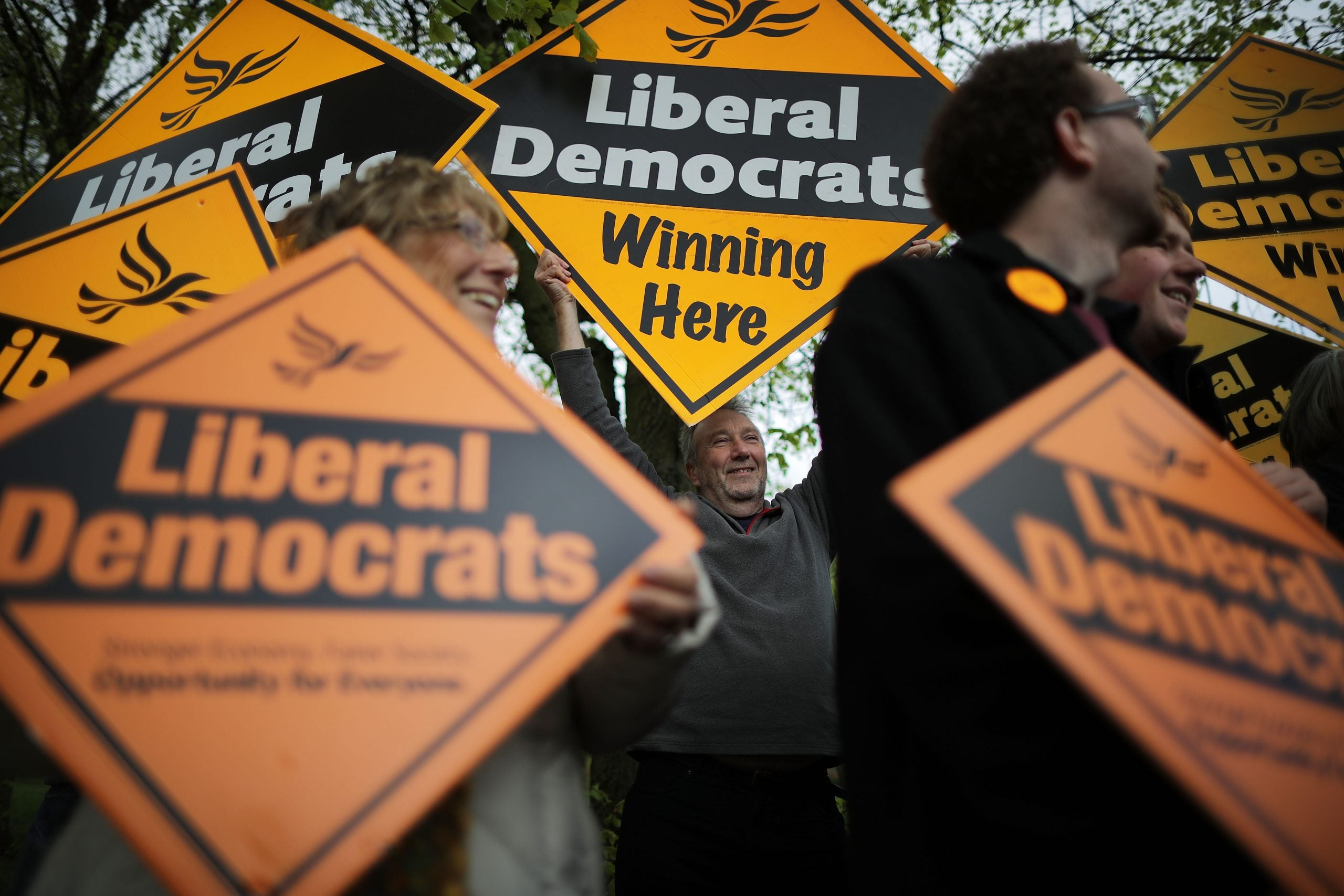 Whose party is this anyway? That's the question gripping Liberal Democrats