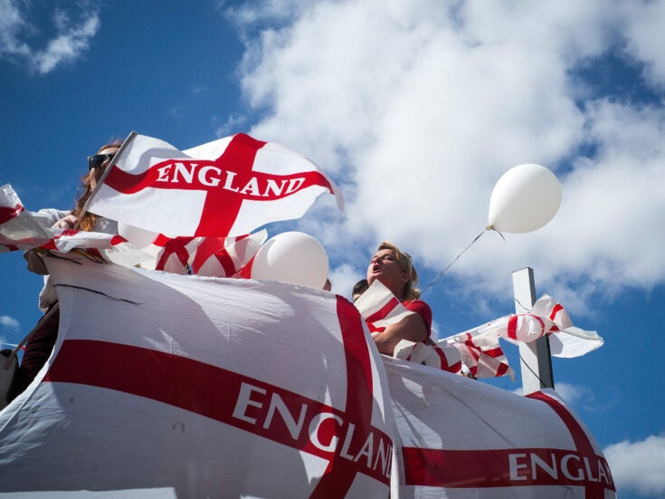 It's OK to celebrate St George's Day – if you accept Englishness is not exclusively white