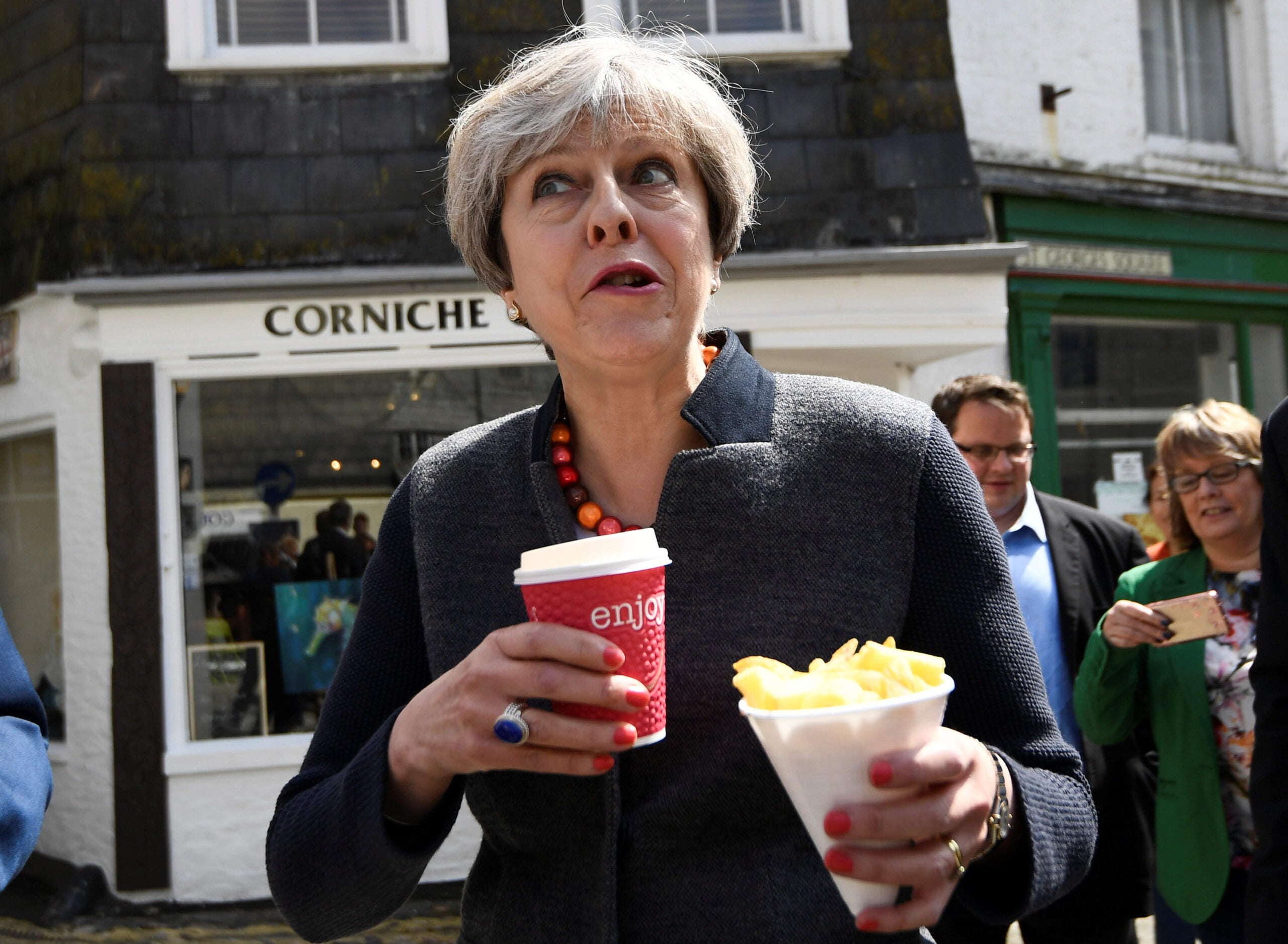 Swapping dinner for crisps? There's a reason Brexit metaphors are all about food