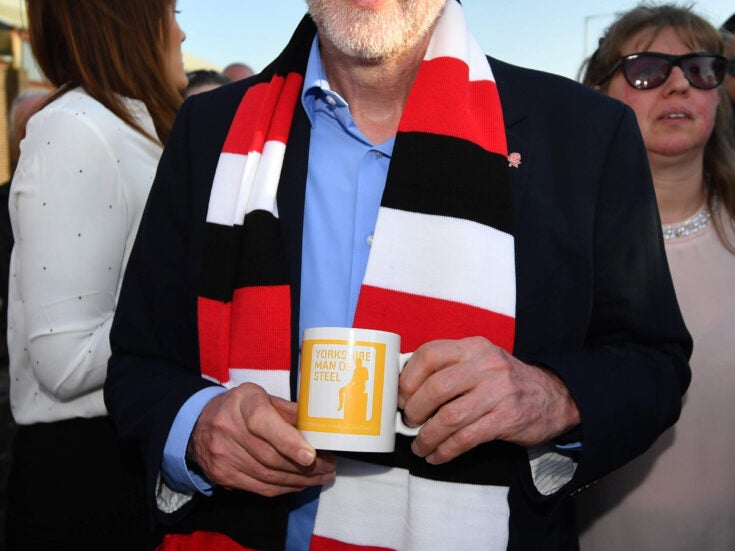 Why Jeremy Corbyn is Labour's Doctor Who