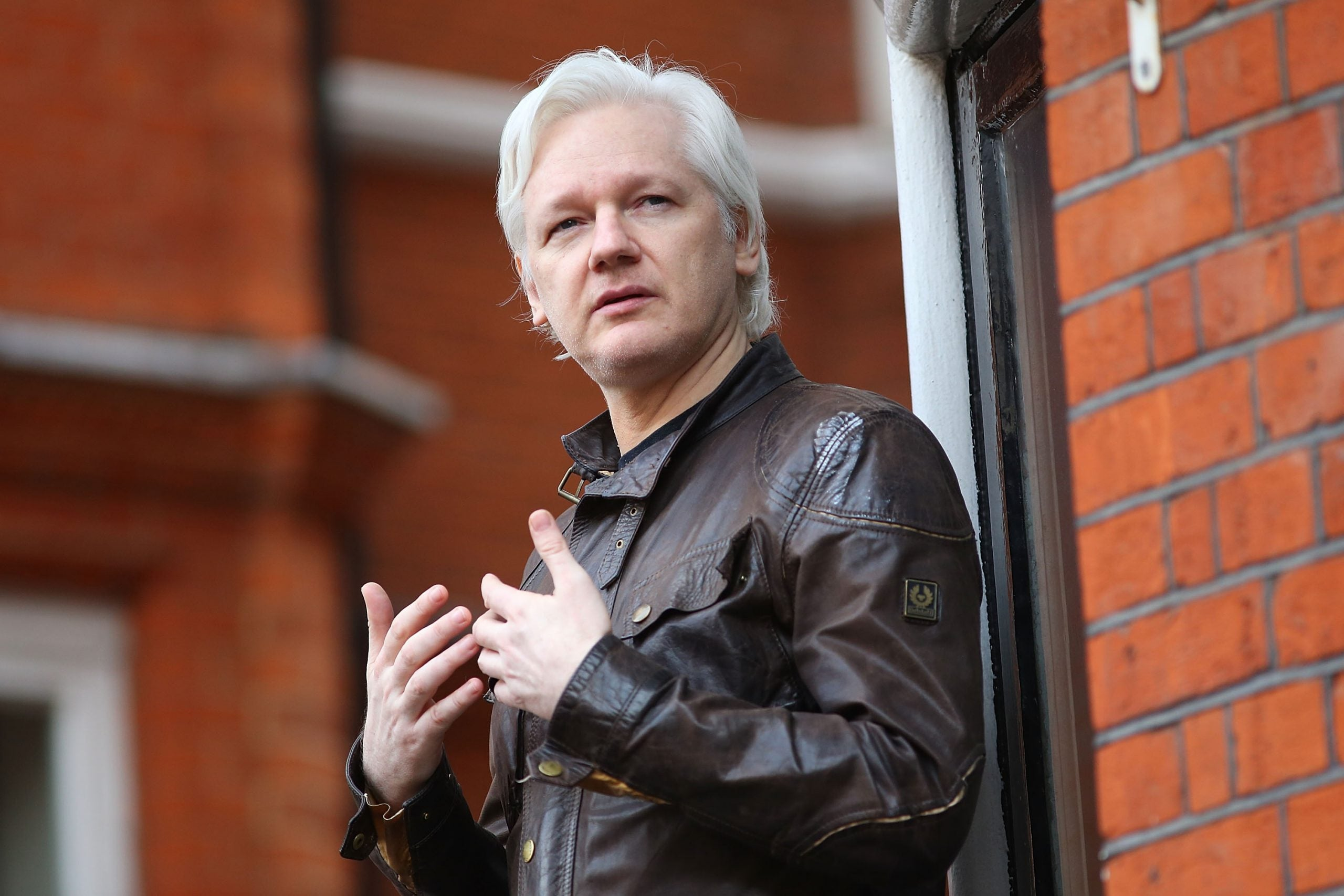 From the NS archive: Julian Assange, the man who wasn't there