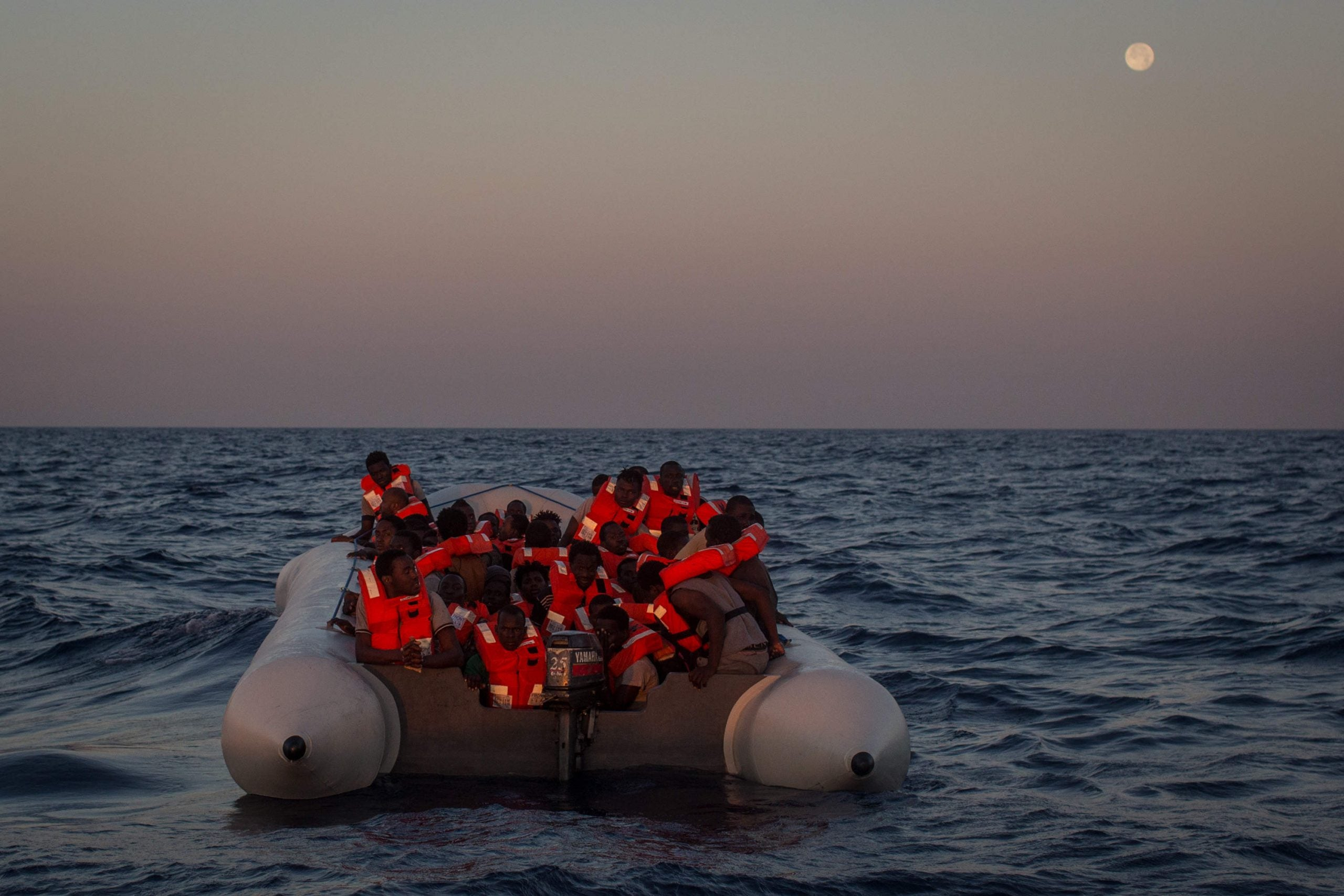 In the new climate of fear, our rescue boat turned away from people drowning