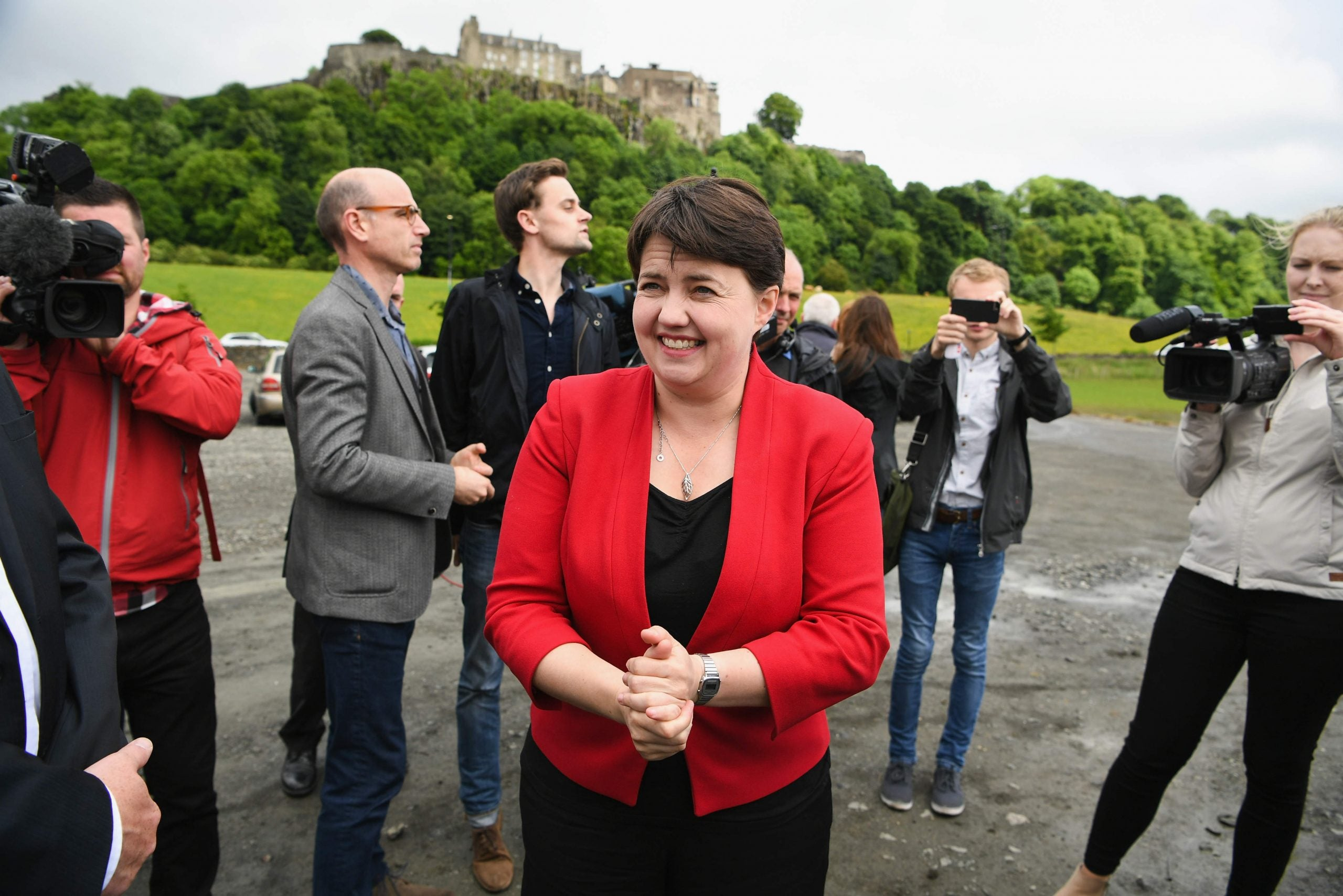 Ruth Davidson was the one winner in a room of losers. Why shouldn't she be Conservative leader?