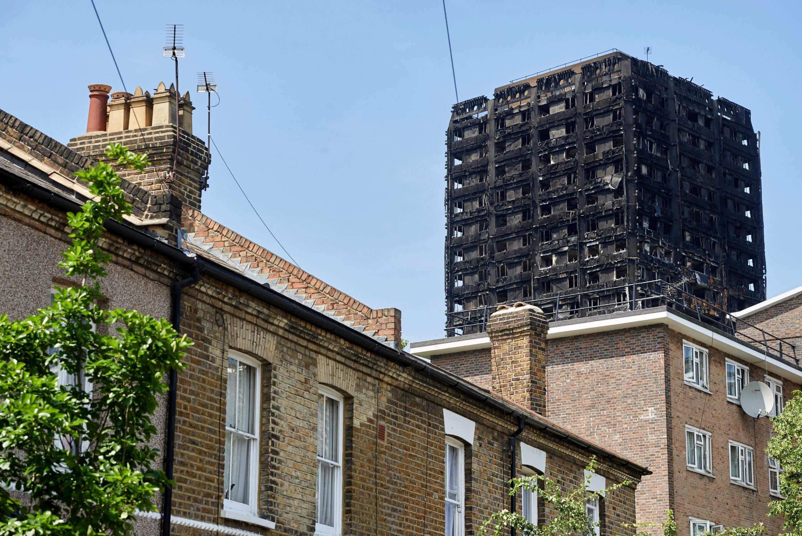 Radio as shelter: Grenfell Tower was too frightening to look at
